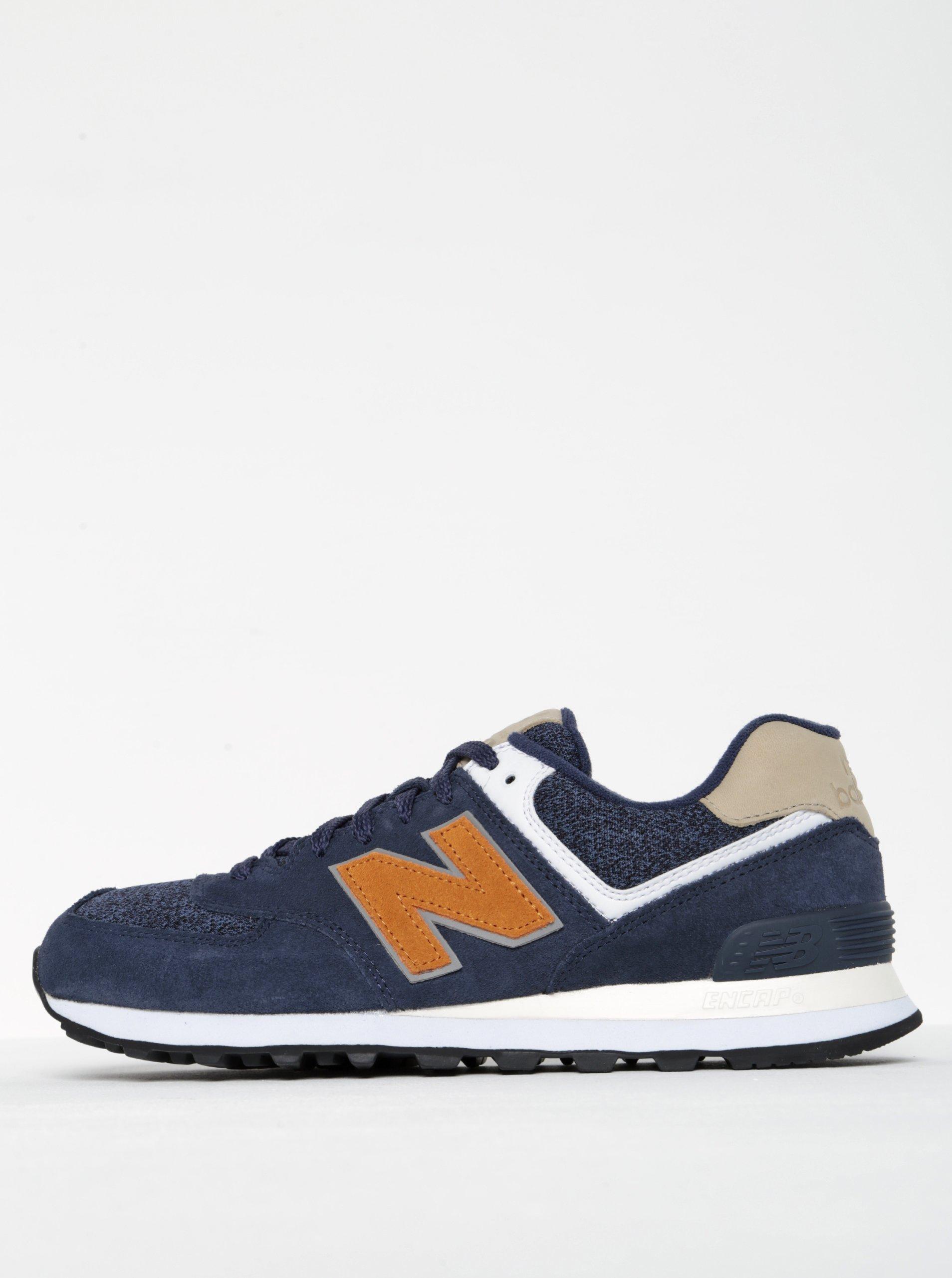Tmavě modré pánské tenisky New Balance