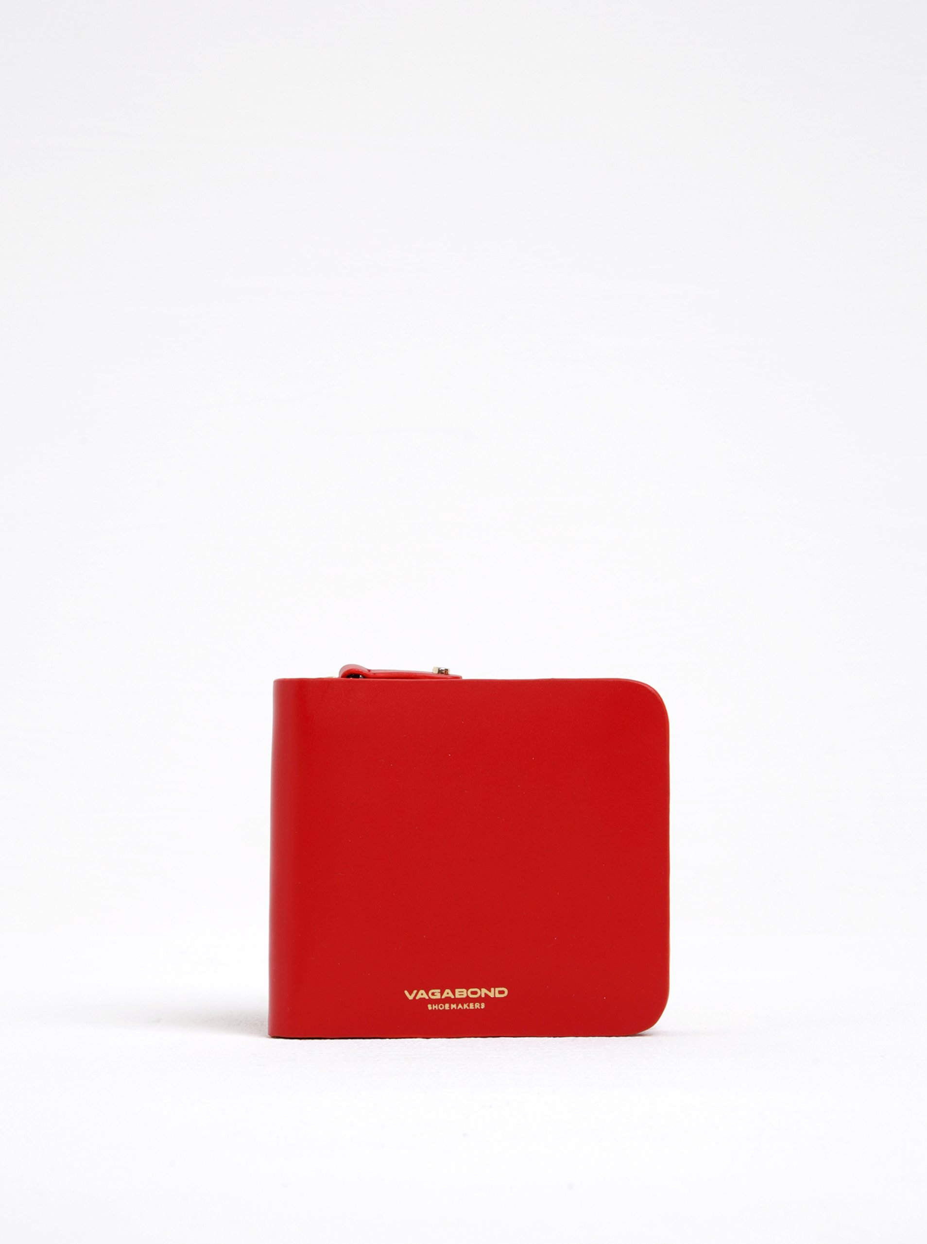 Červená dámská kožená peněženka Vagabond Palermo