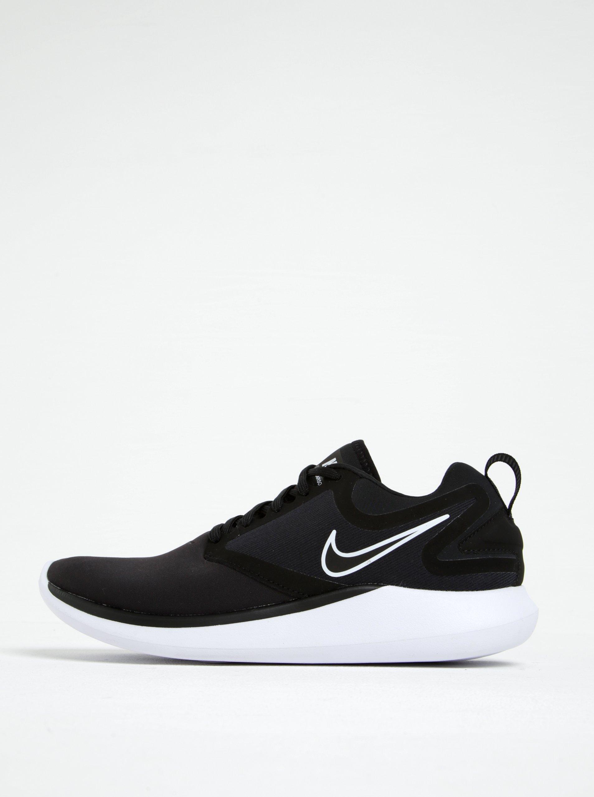 Hnědo-černé pánské tenisky Nike Lunarsolo