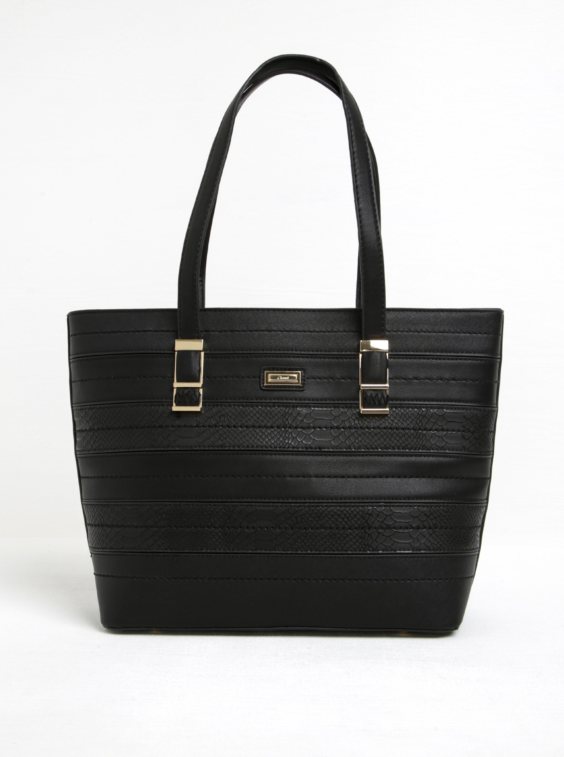 Černá velká kabelka Gionni Ynes