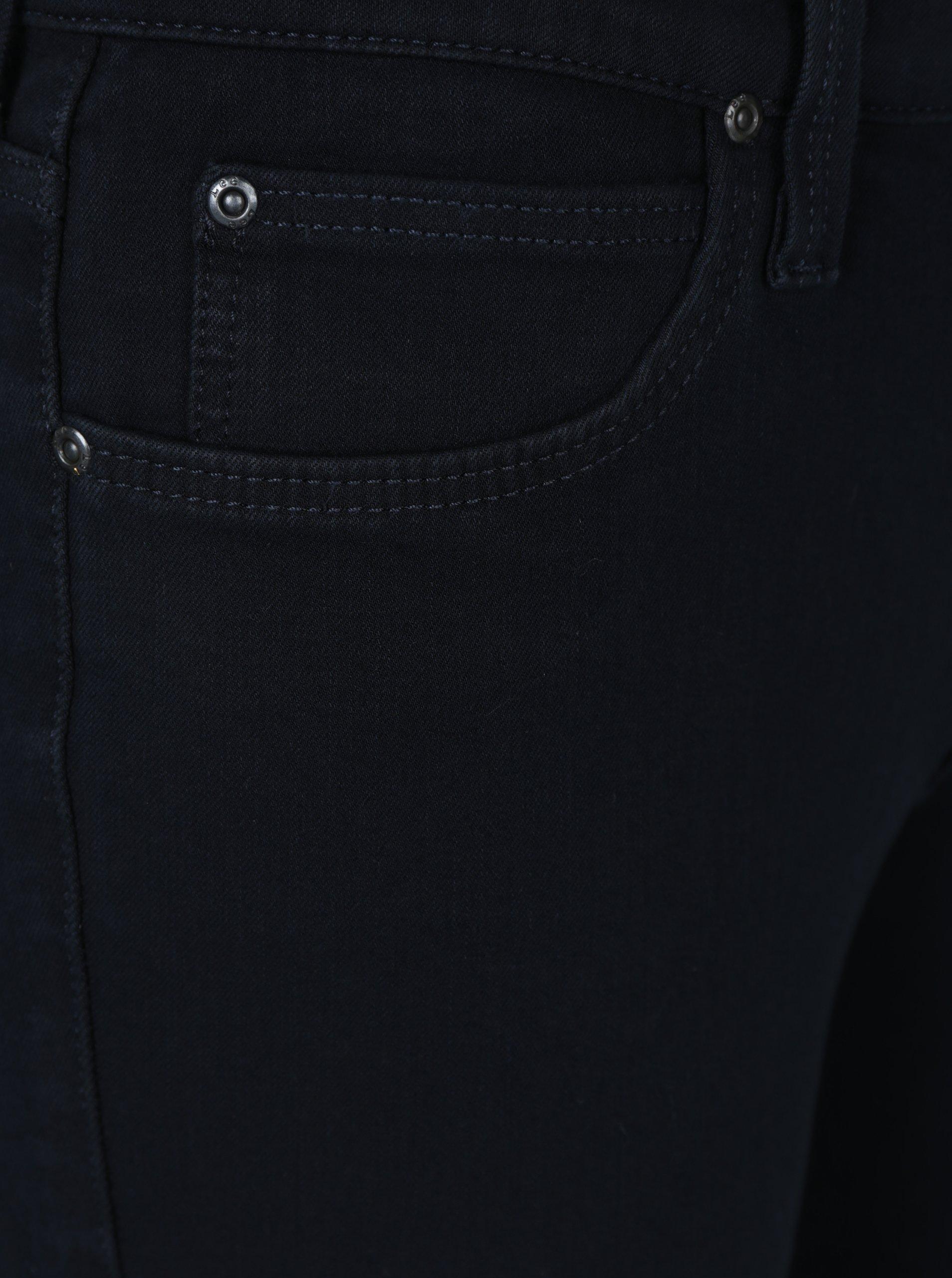 18ccefc20ca Tmavě modré dámské zkrácené skinny fit džíny Lee Scarlett - Akční ...