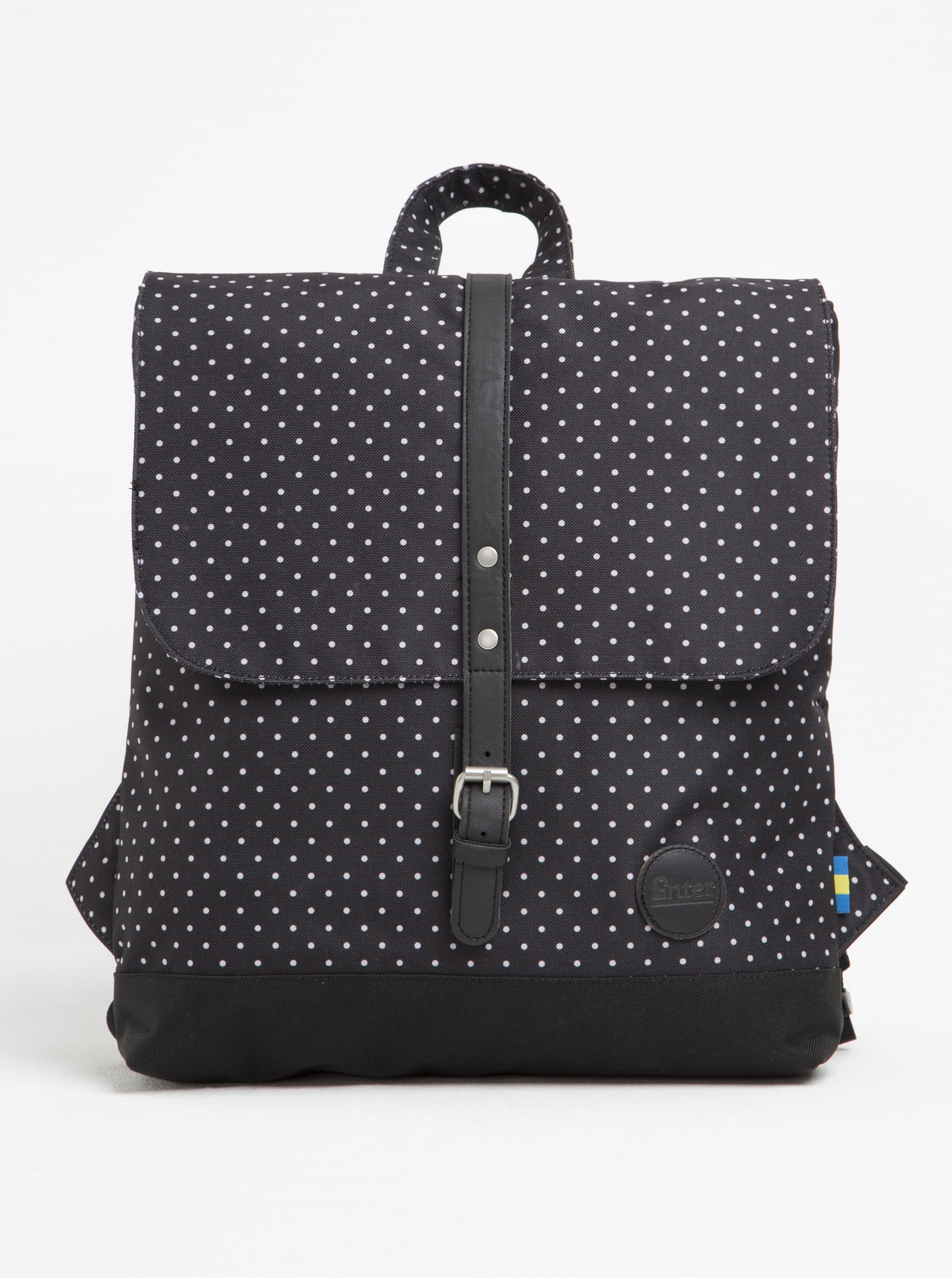 Bílo-černý batoh Enter Backpack Mini 8 l