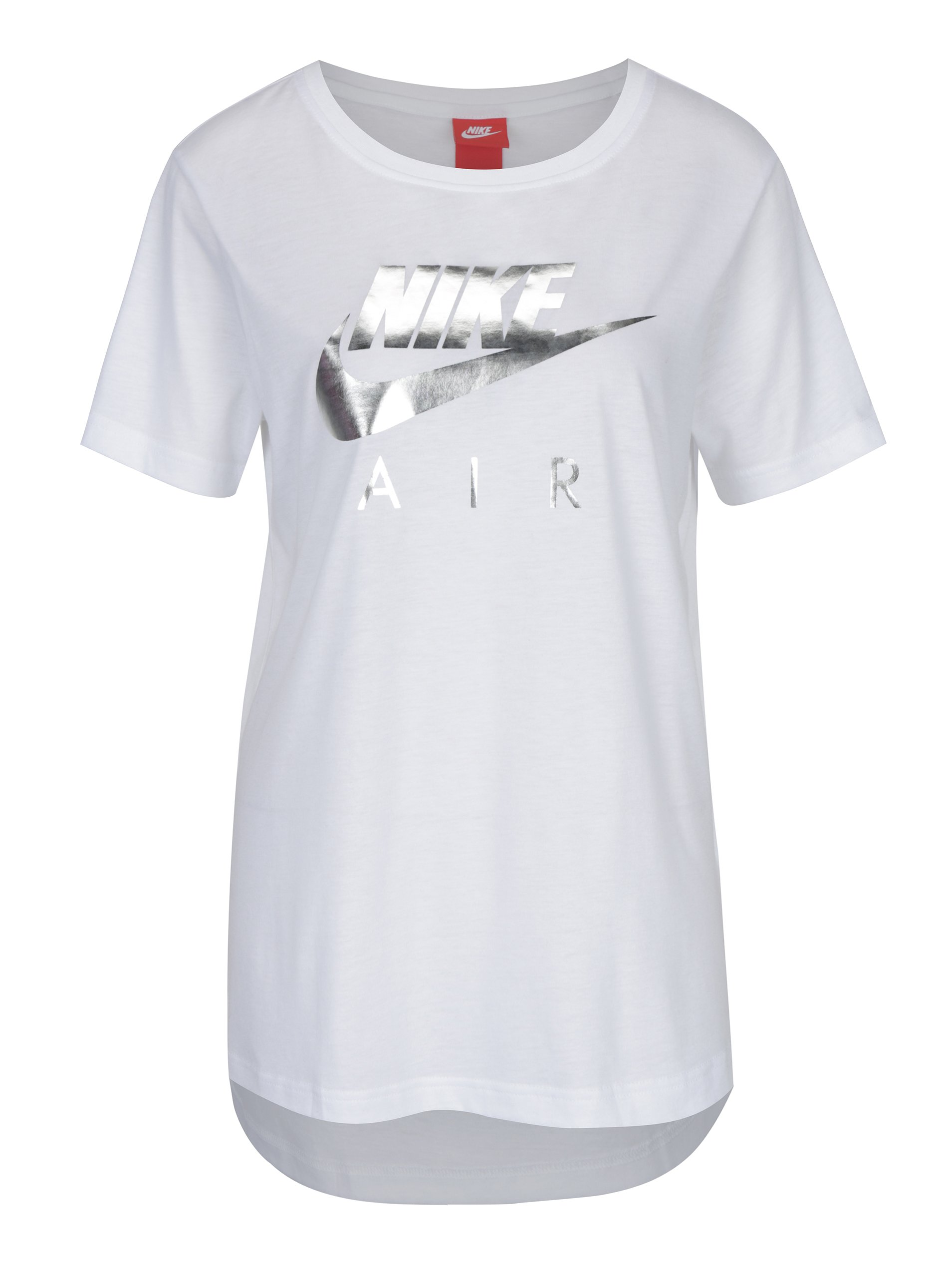 Bílé dámské tričko s potiskem Nike Sportswear Air