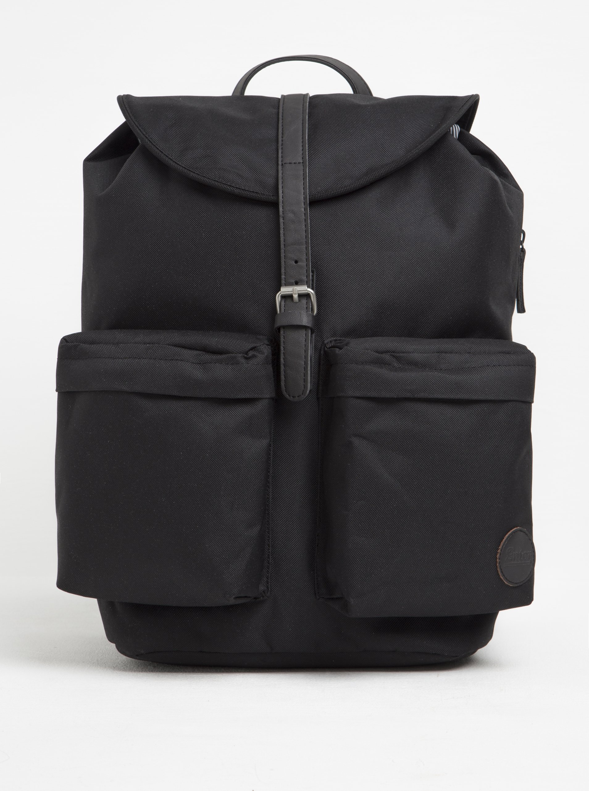 Černý batoh s kapsami Enter Hiker 15 l