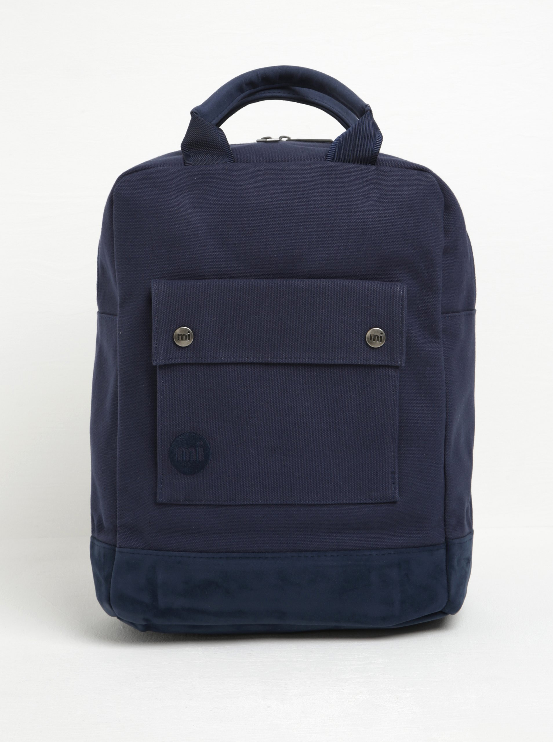 Tmavě modrý batoh Mi-Pac Tote Backpack Canvas