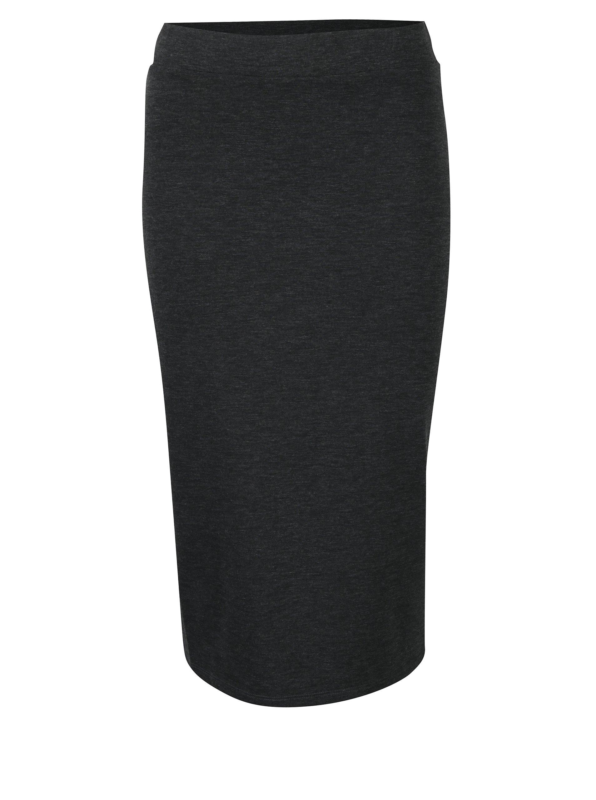 Tmavě šedá pouzdrová sukně Broadway Michon