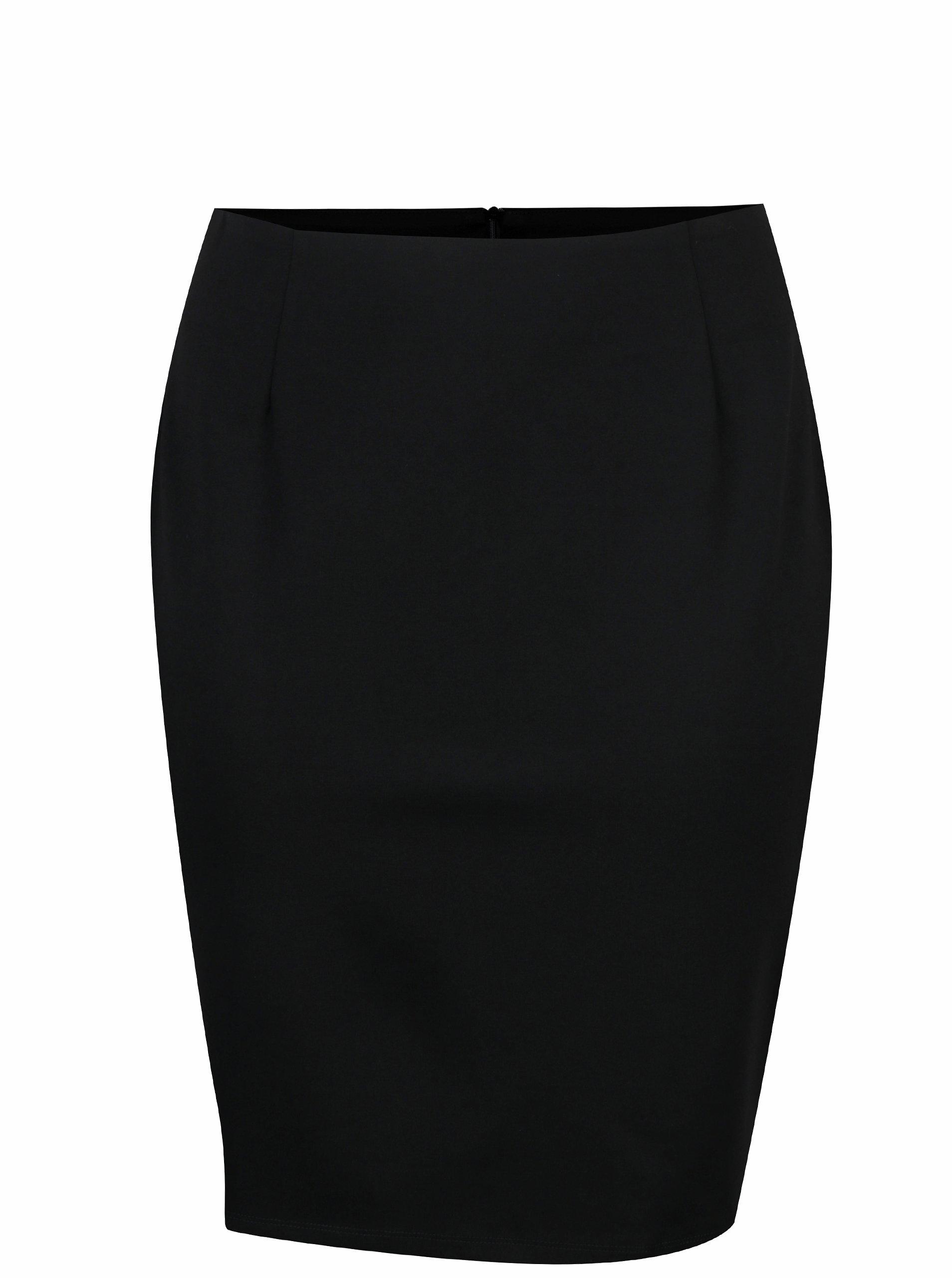 Černá pouzdrová sukně LA Lemon