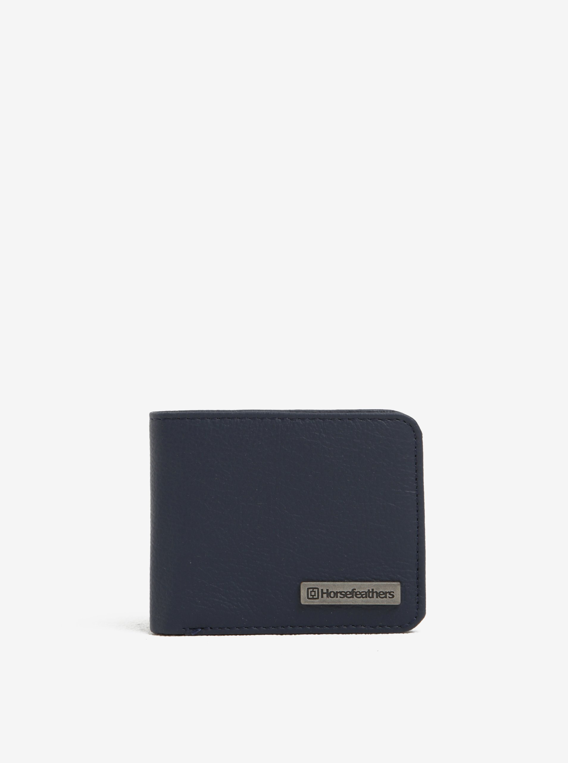 Tmavě modrá pánská kožená peněženka Horsefeathers Brad