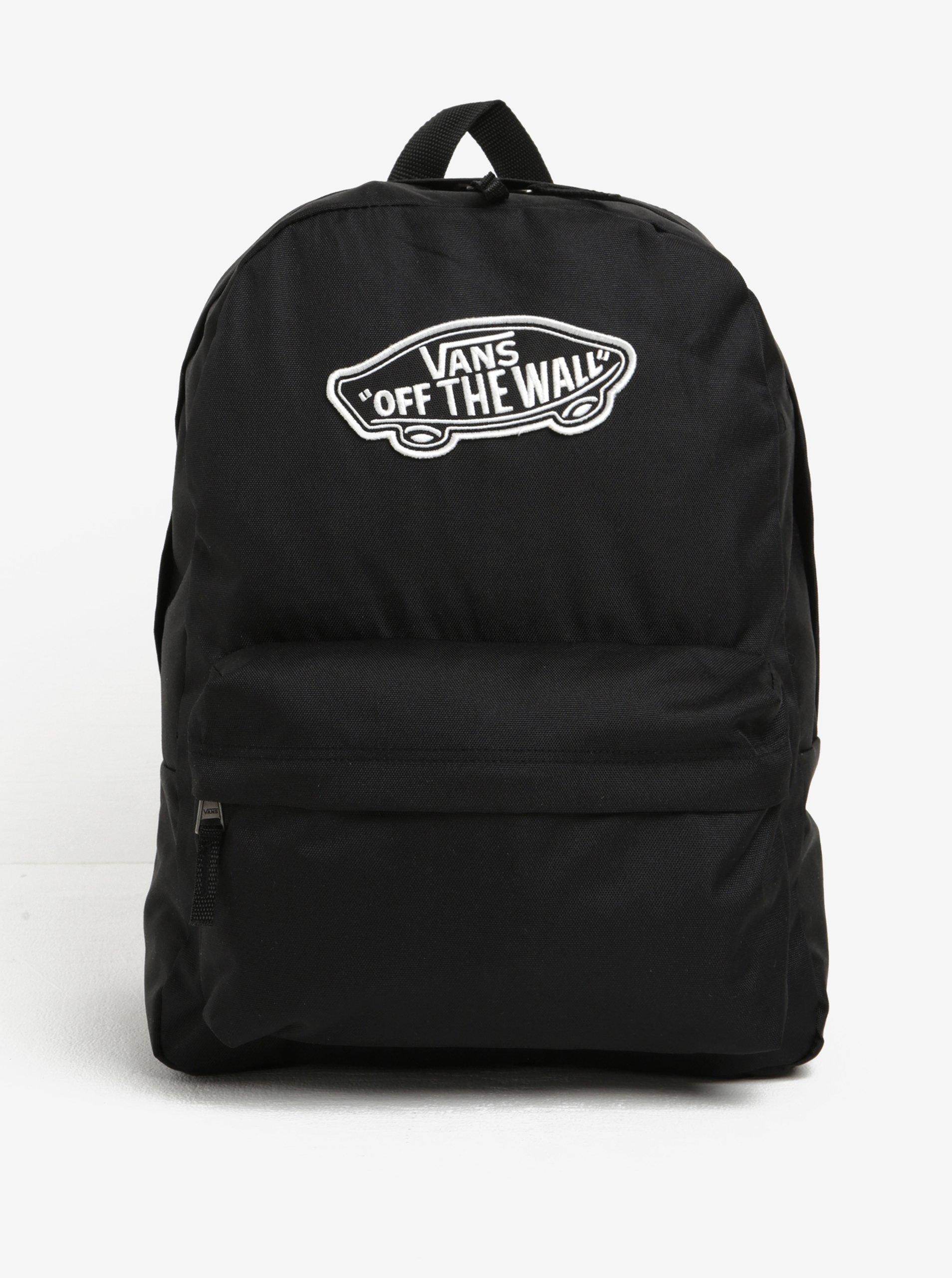 Černý batoh s nášivkou VANS Realm 22 l