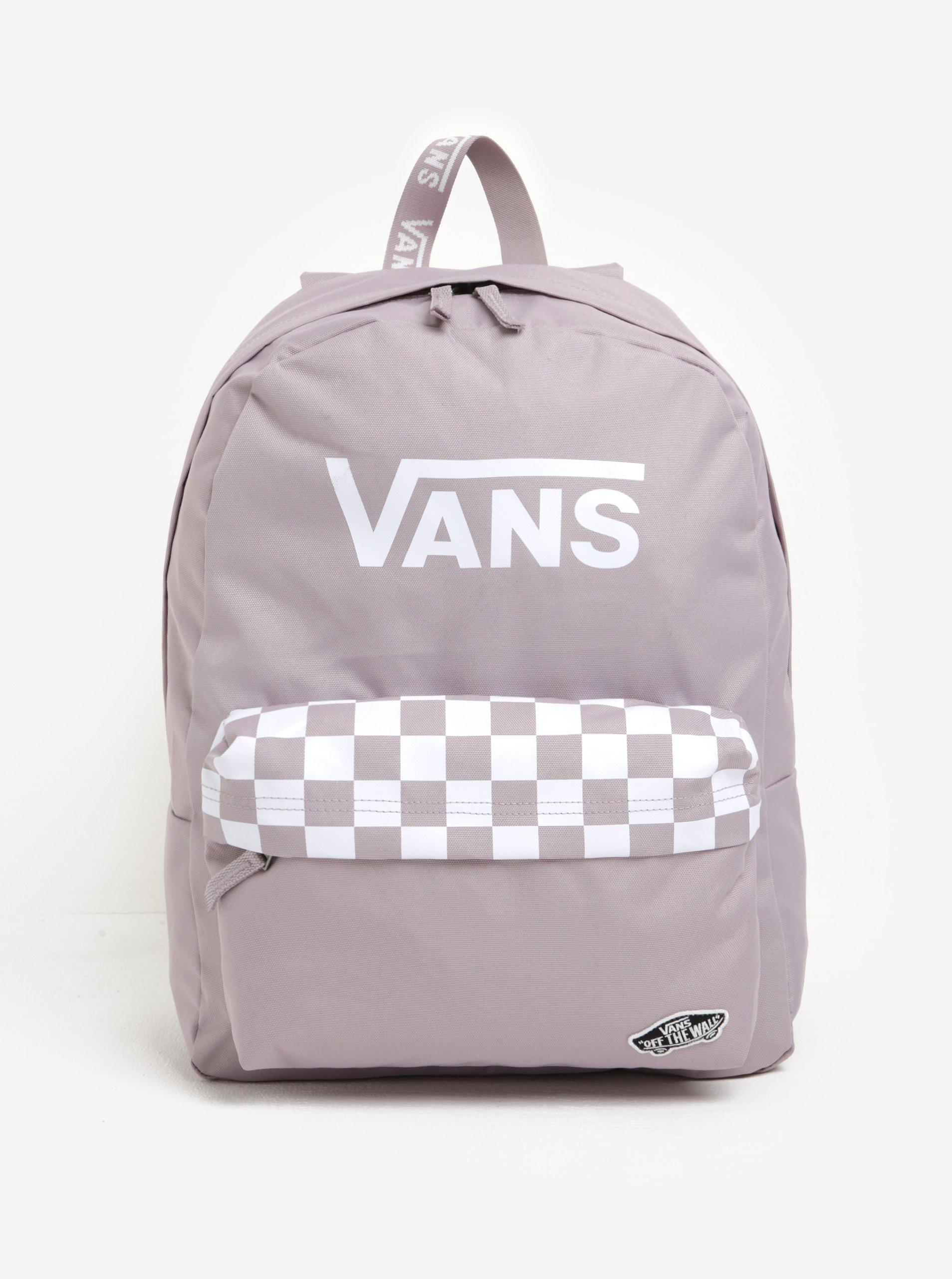 Růžový dámský batoh s potiskem VANS Sporty Realm 22l – ŽENY   Kabelky a6e07bb9e1