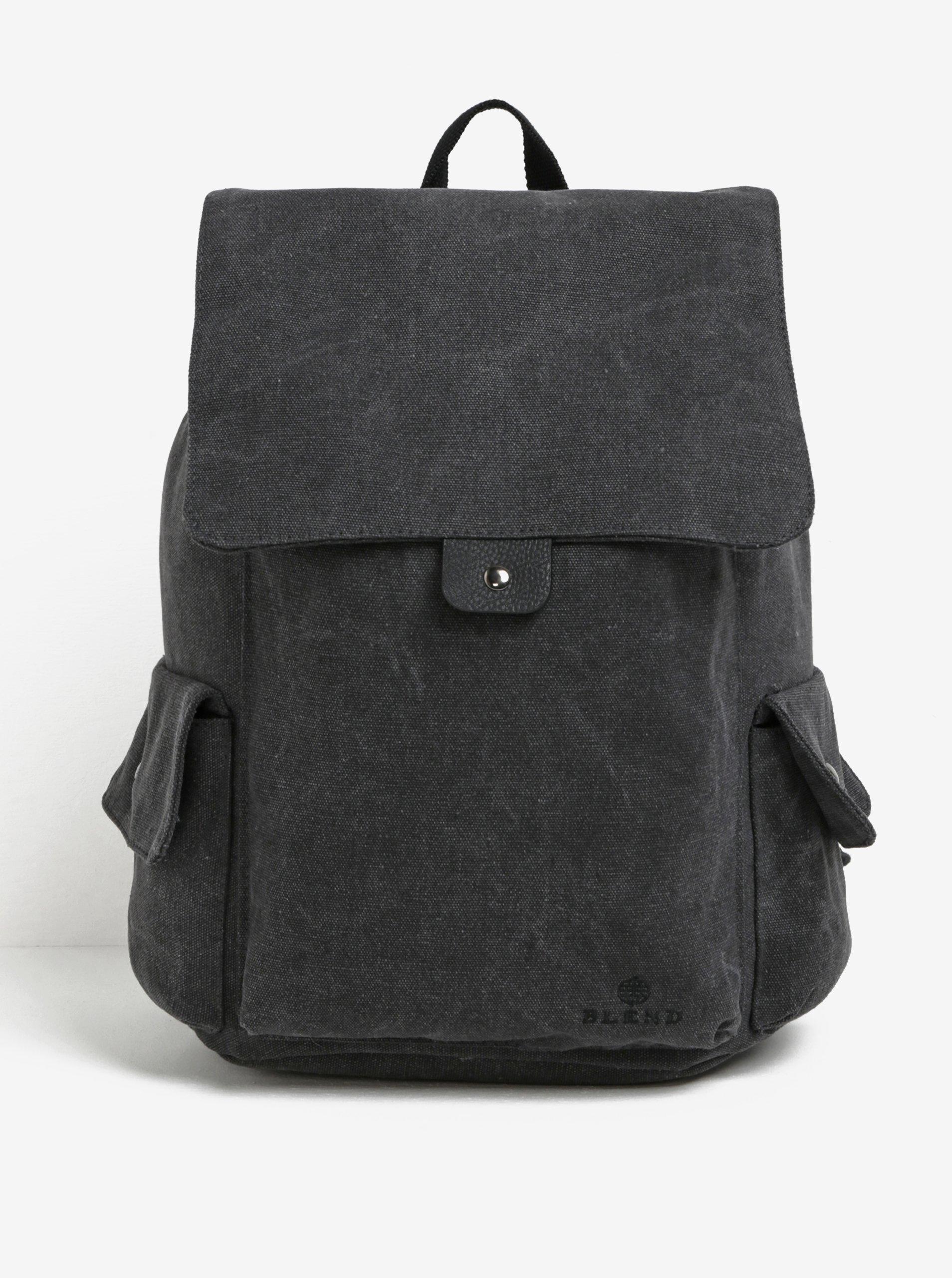 Tmavě šedý batoh Blend