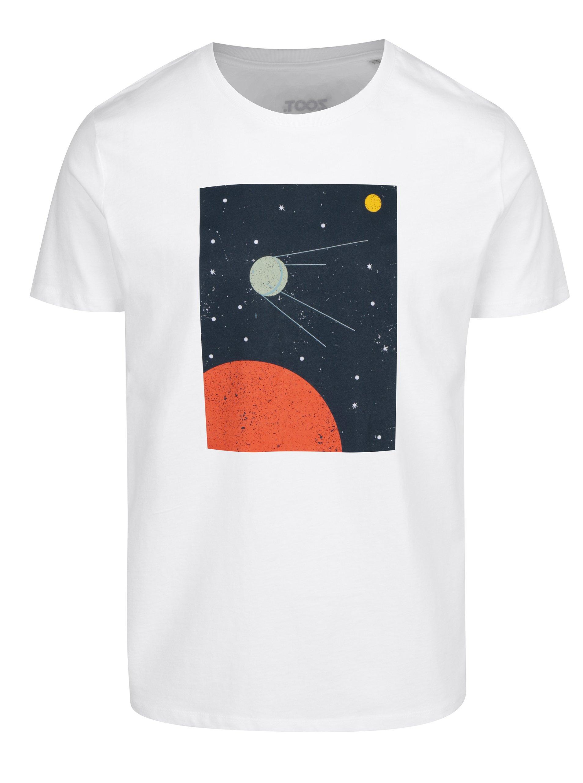 Bílé pánské tričko ZOOT Original Sputnik