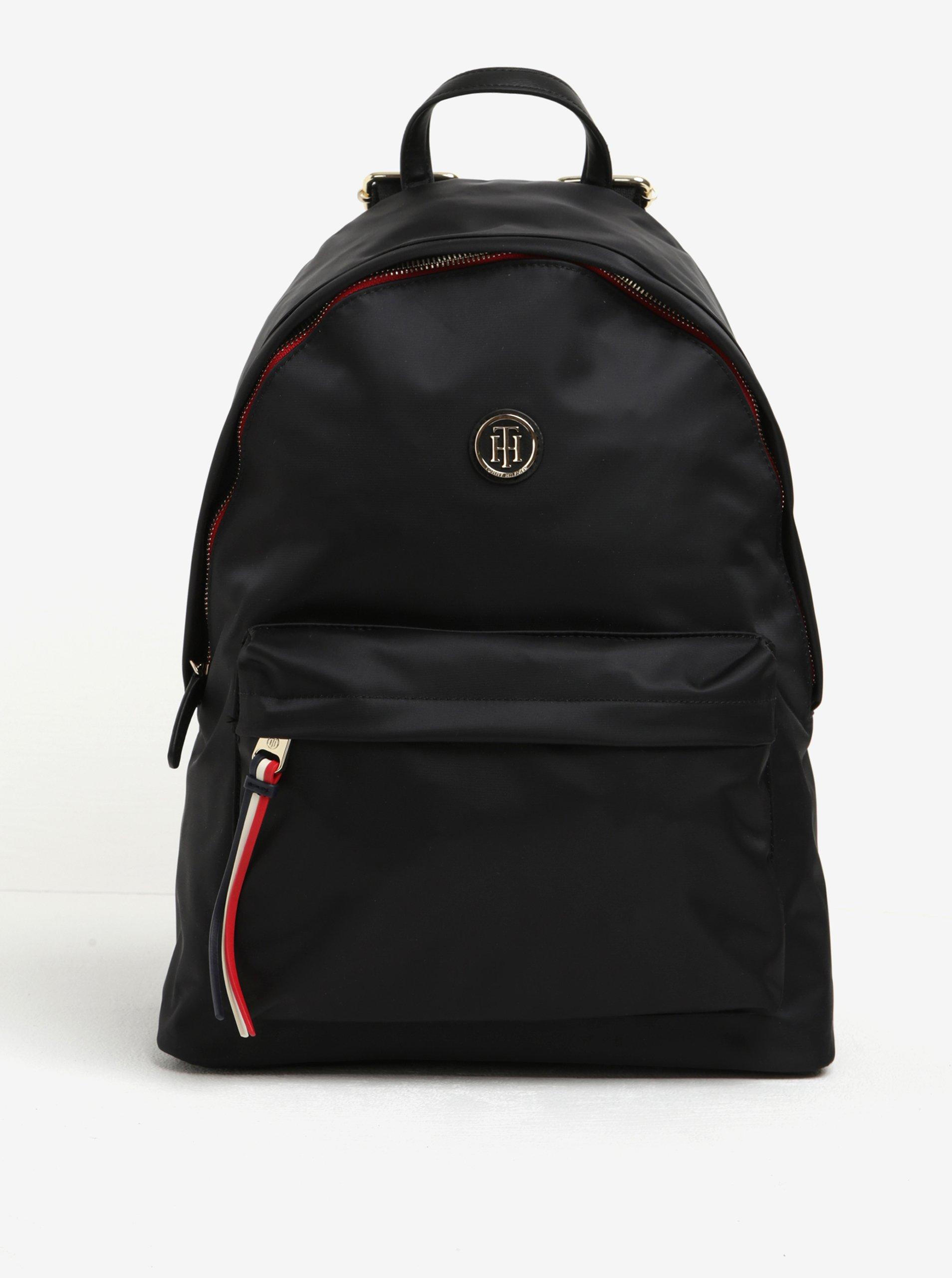 Černý dámský batoh Tommy Hilfiger Poppy