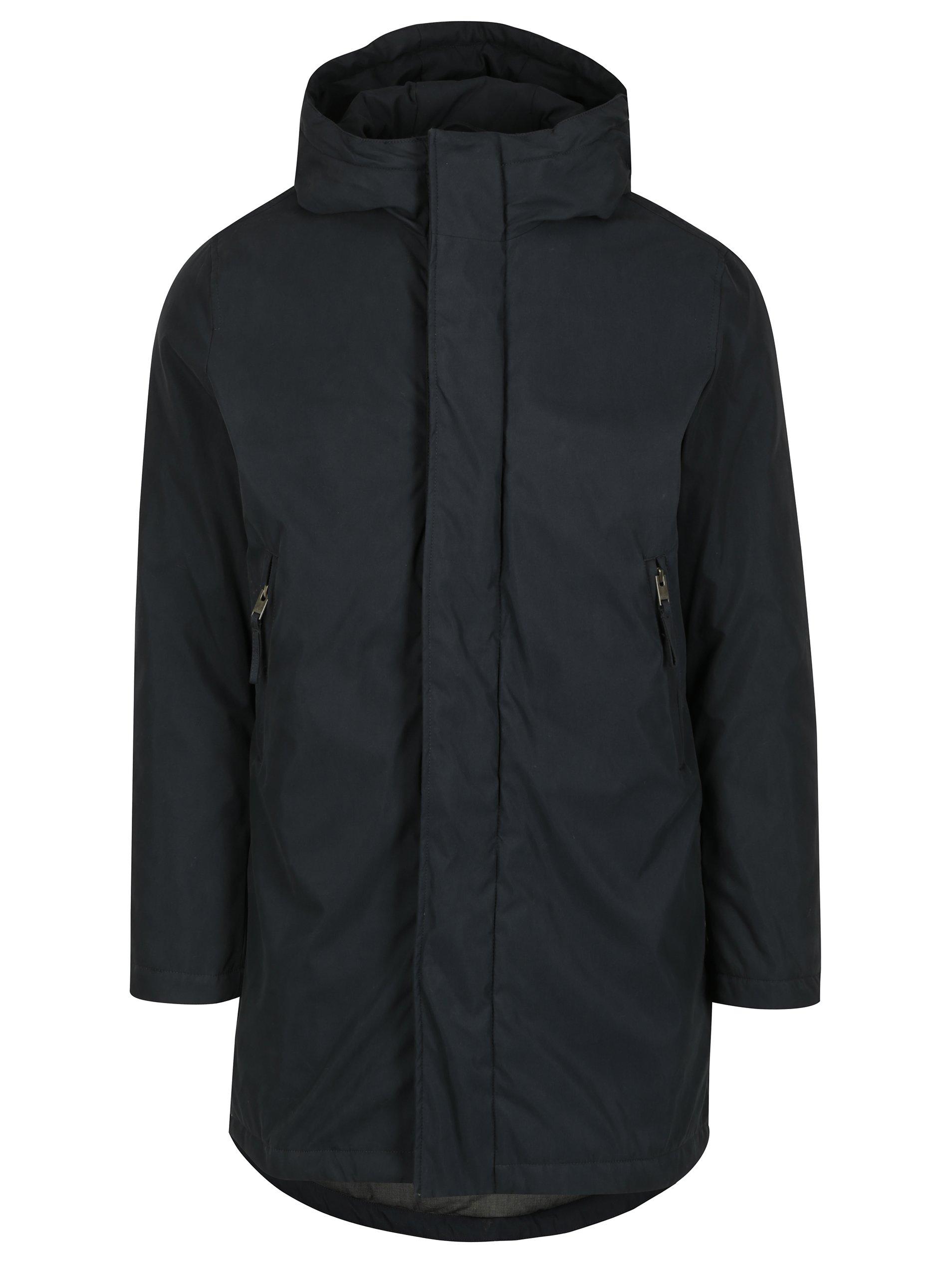 Tmavomodrá zimná bunda Selected Homme Jason