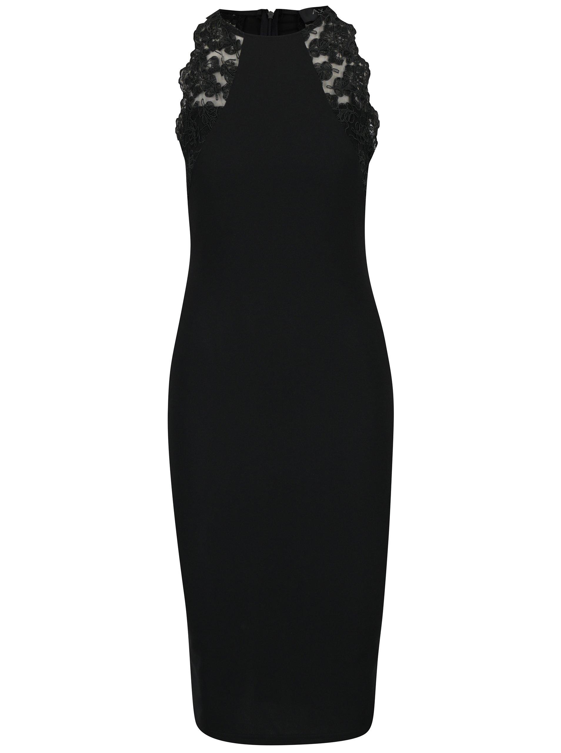 Čierne puzdrové šaty AX Paris 3c9db096dc1