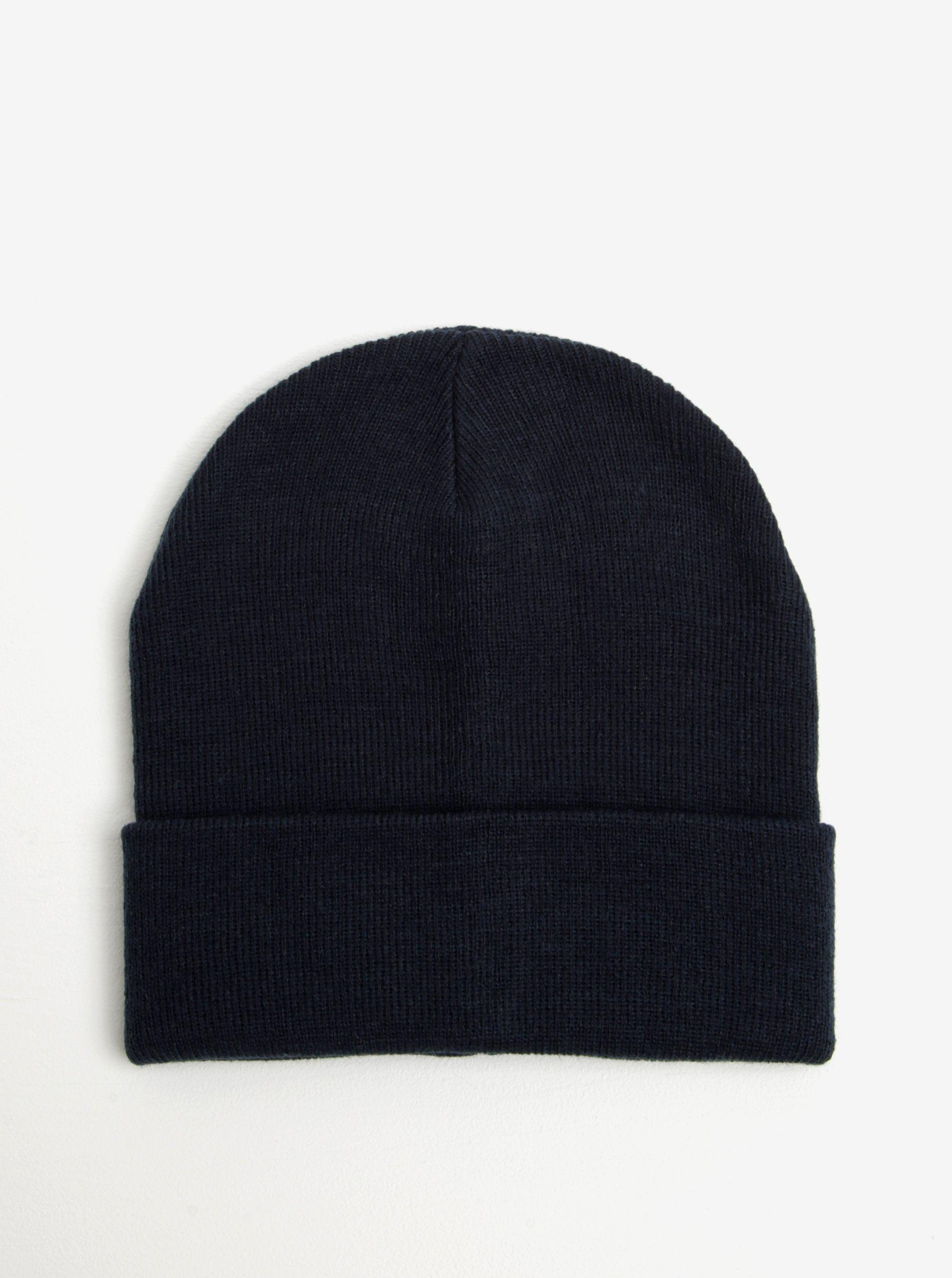 Tmavě modrá čepice Blend