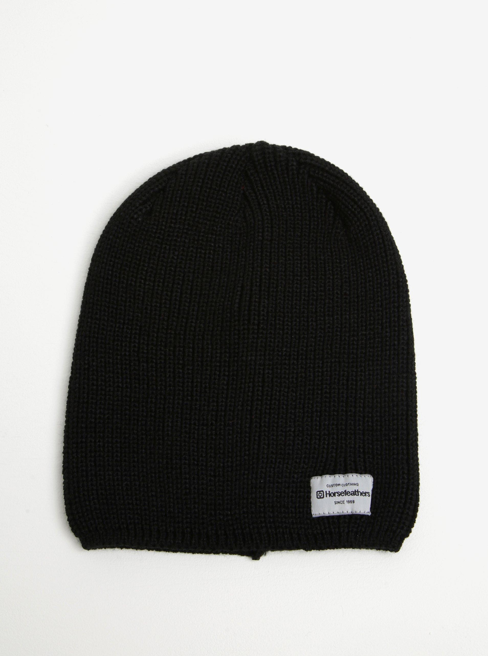 Černá dámská zimní čepice Horsefeathers Berta 1927c46a97