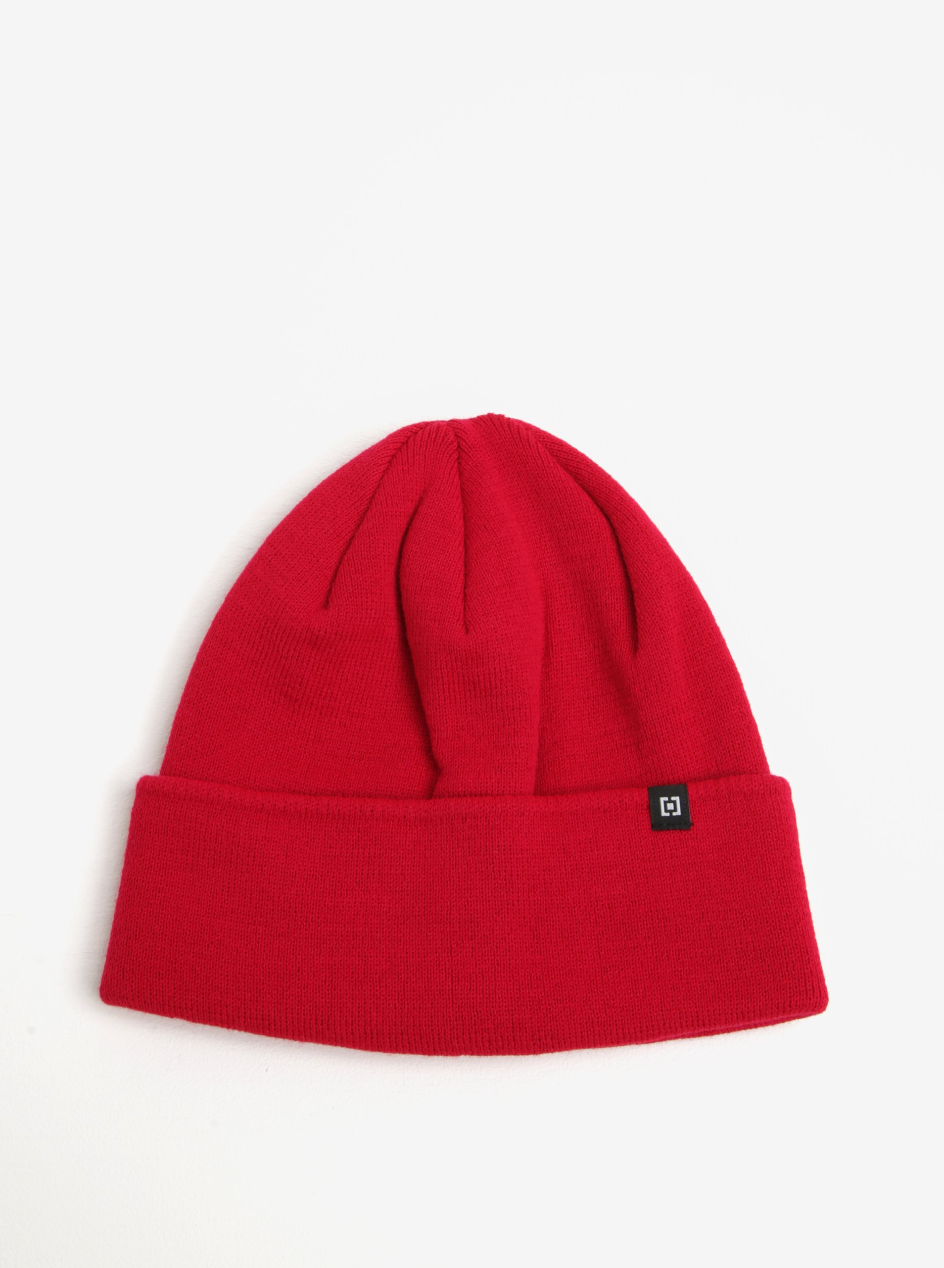 Červená dámská zimní čepice Horsefeathers Greis