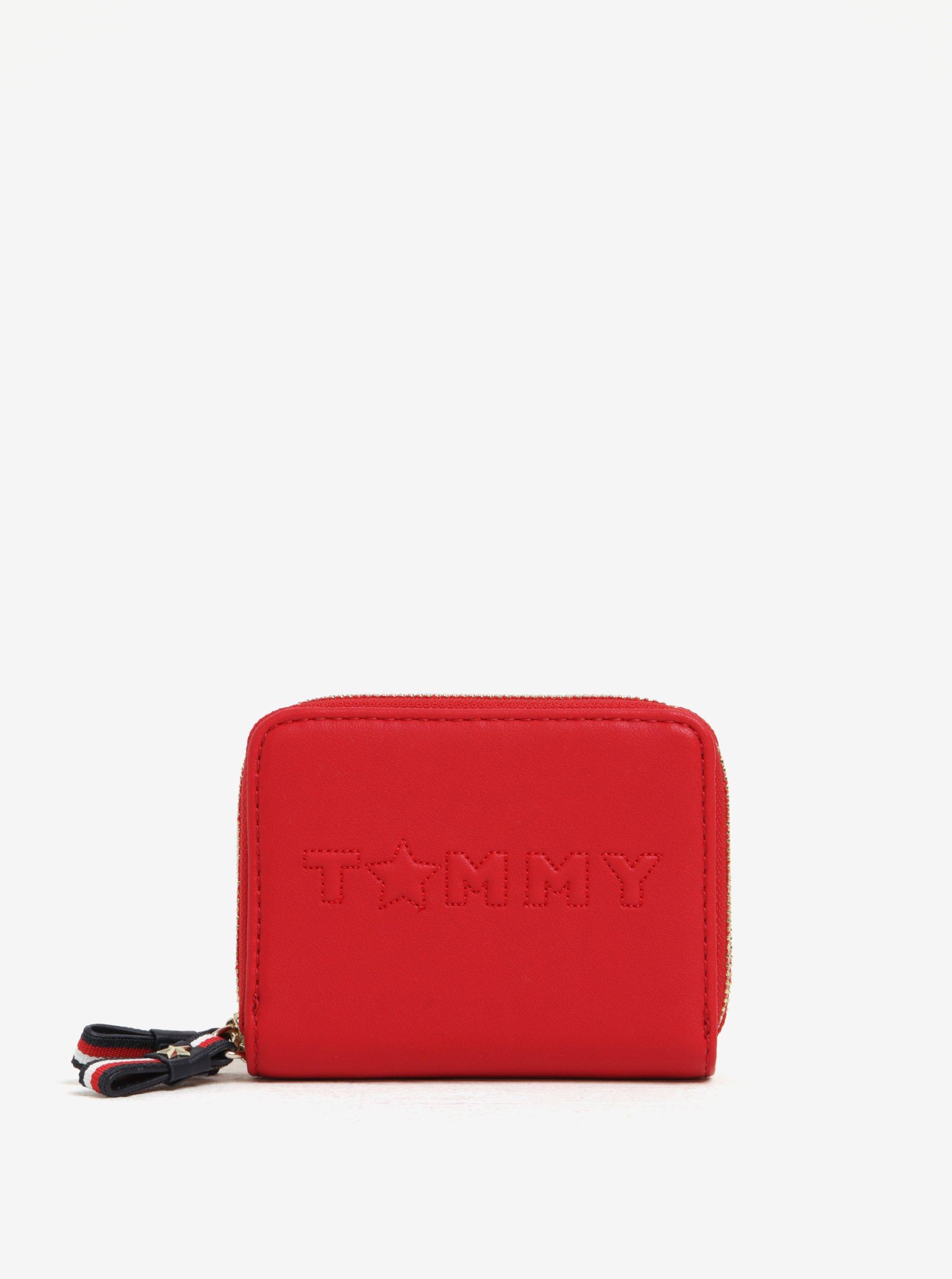 Červená dámská peněženka Tommy Hilfiger