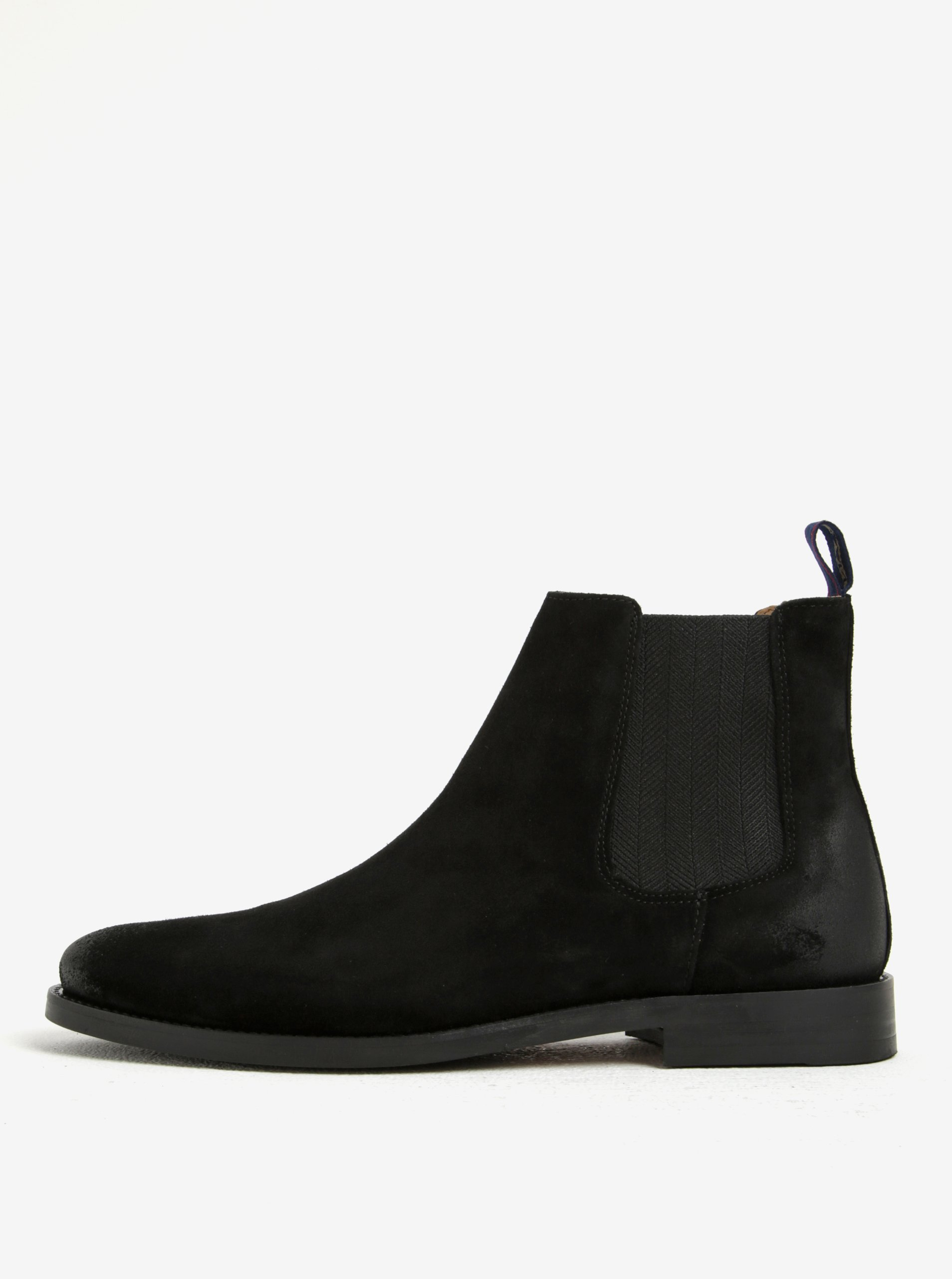 Černé pánské semišové chelsea boty GANT Max