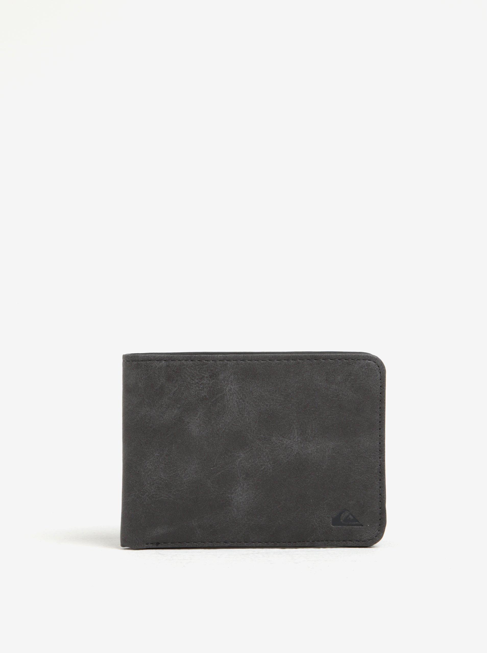 Tmavě šedá pánská peněženka Quiksilver