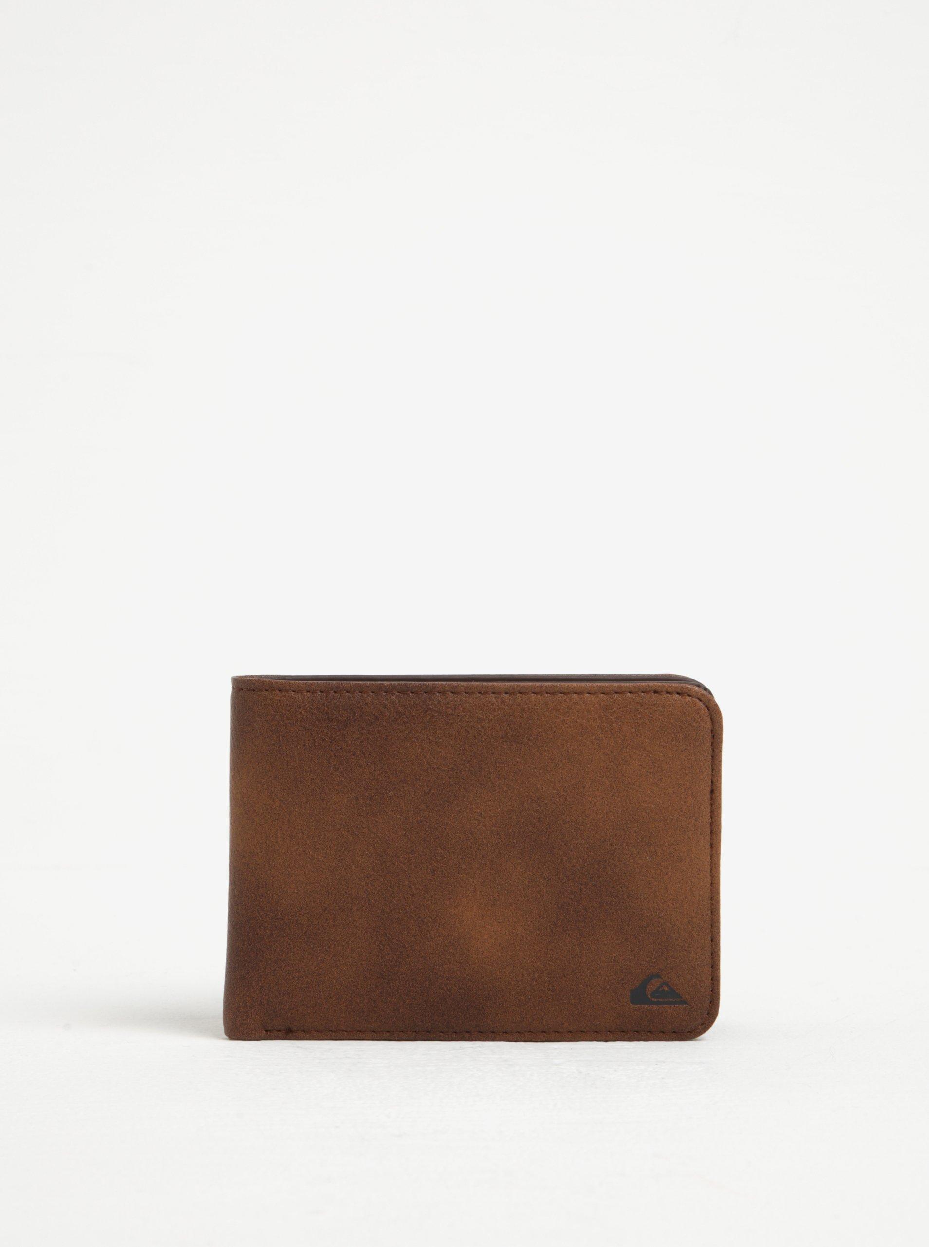 Hnědá pánská peněženka Quiksilver