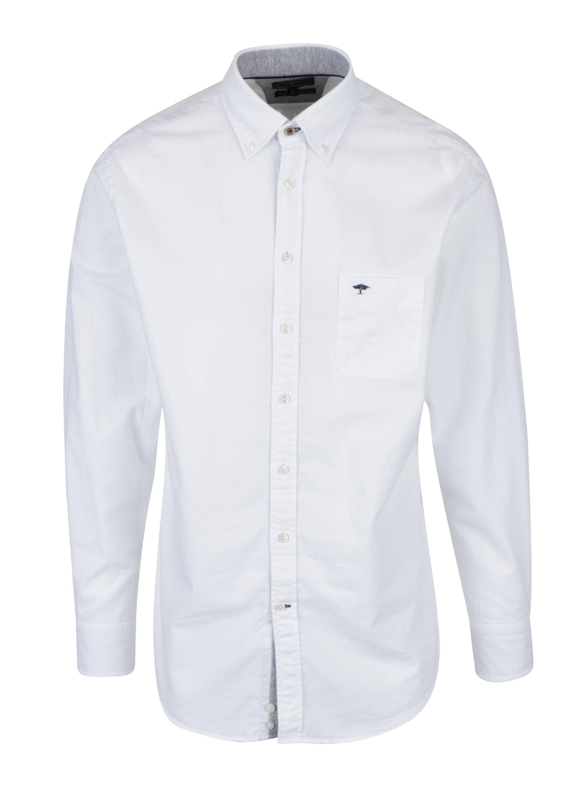 Bílá košile s náprsní kapsou Fynch-Hatton