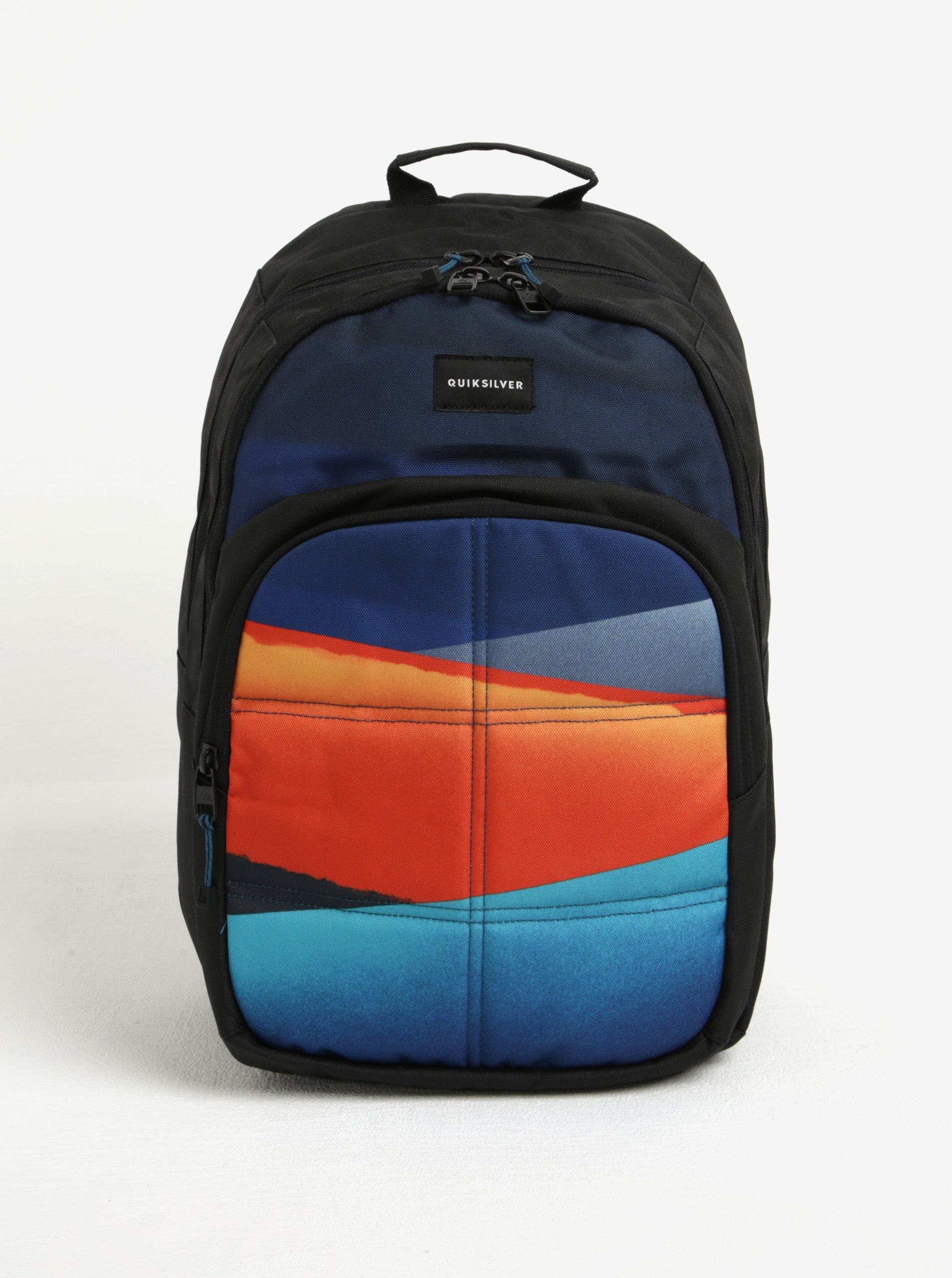 Modro-černý pánský batoh Quiksilver 20l