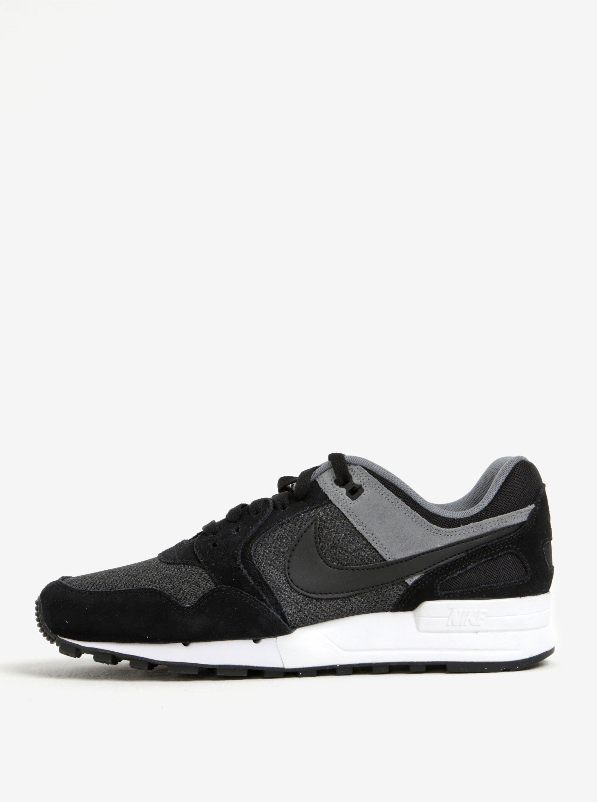 Černé pánské tenisky se semišovými detaily Nike Air Pegasus´89