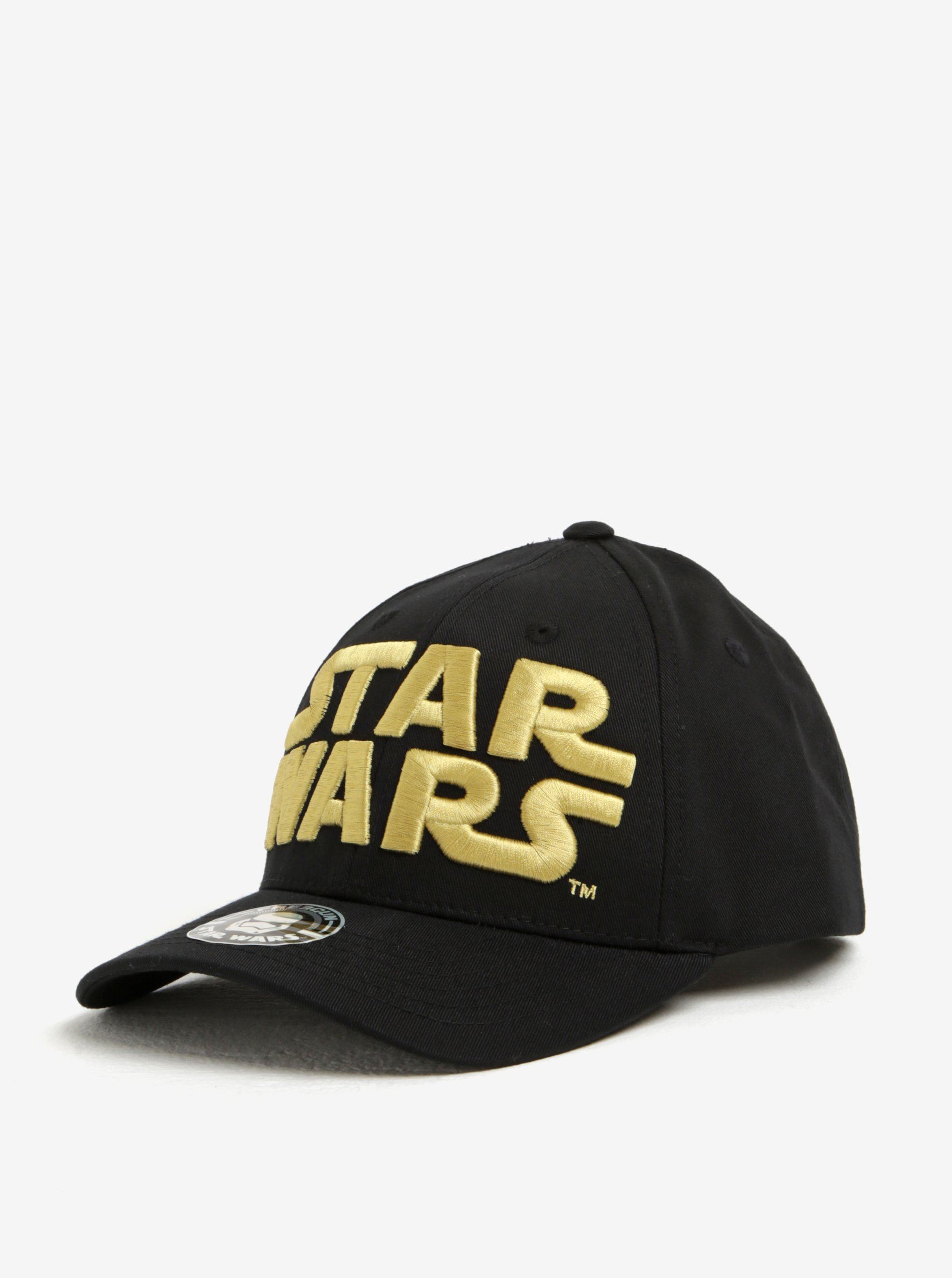 Žluto-černá pánská kšiltovka Star Wars