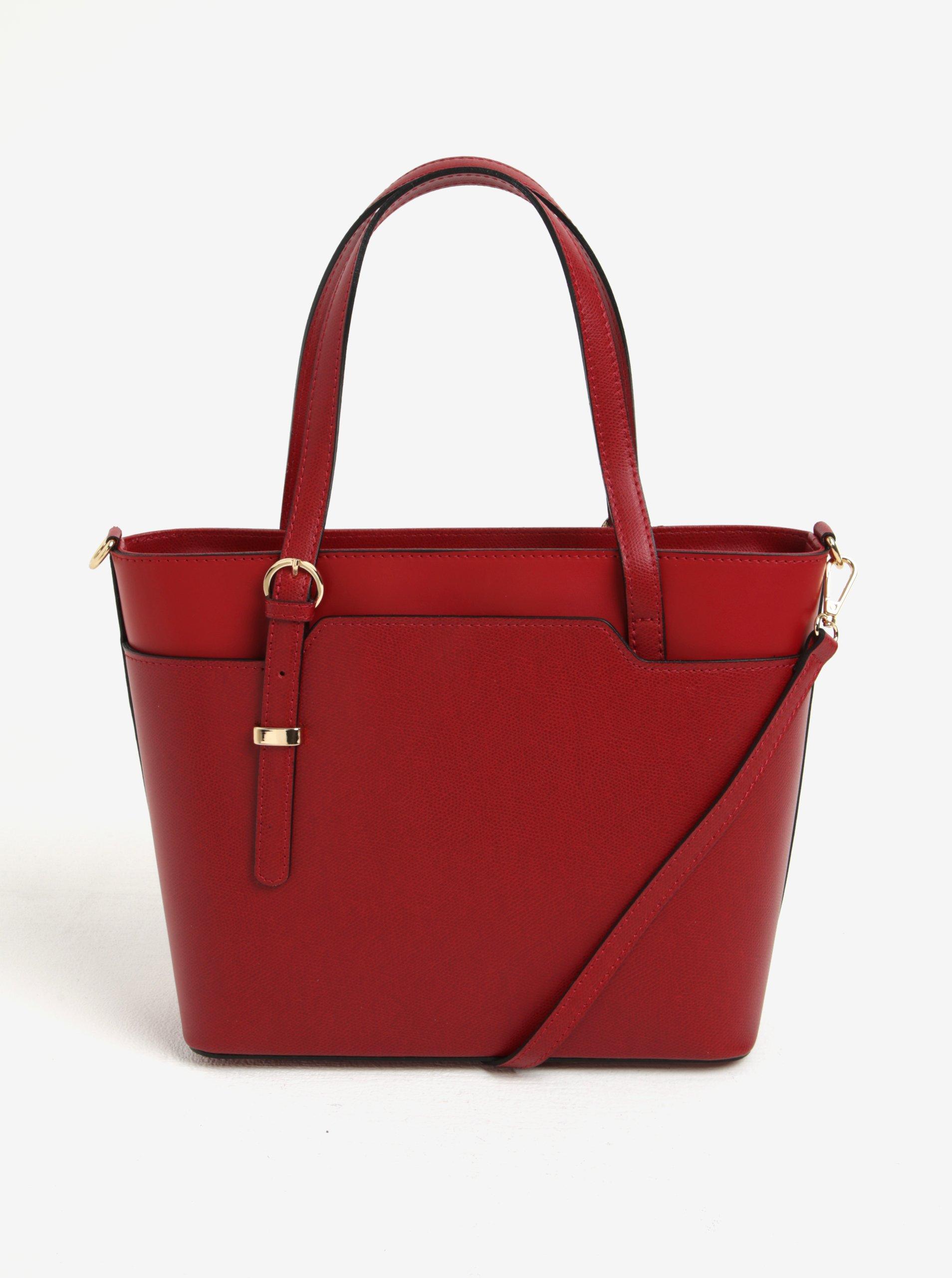e499464b51 Červená dámska kožená kabelka do ruky crossbody kabelka s hadím vzorom KARA