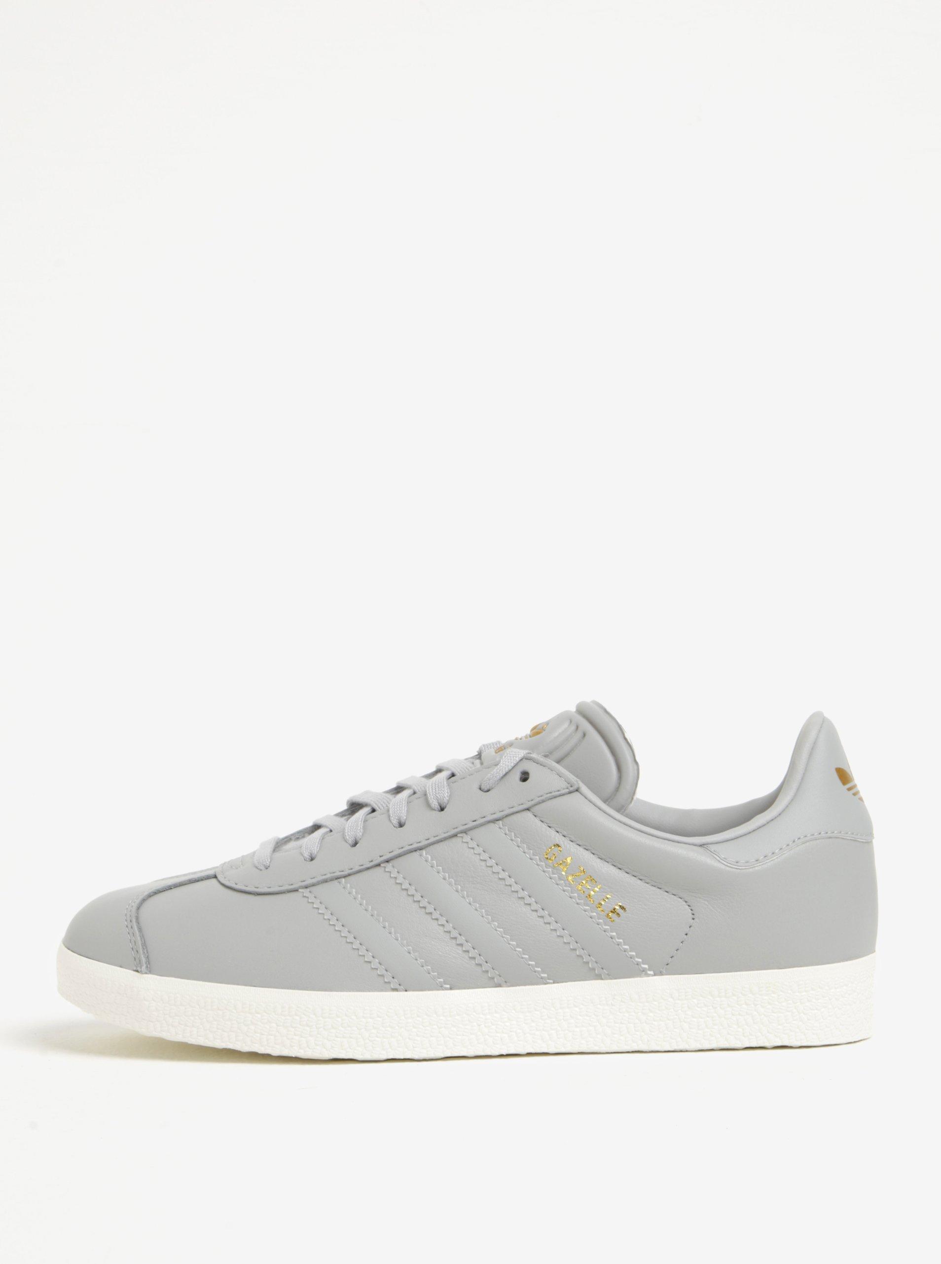 Šedé dámské tenisky adidas Originals Gazelle