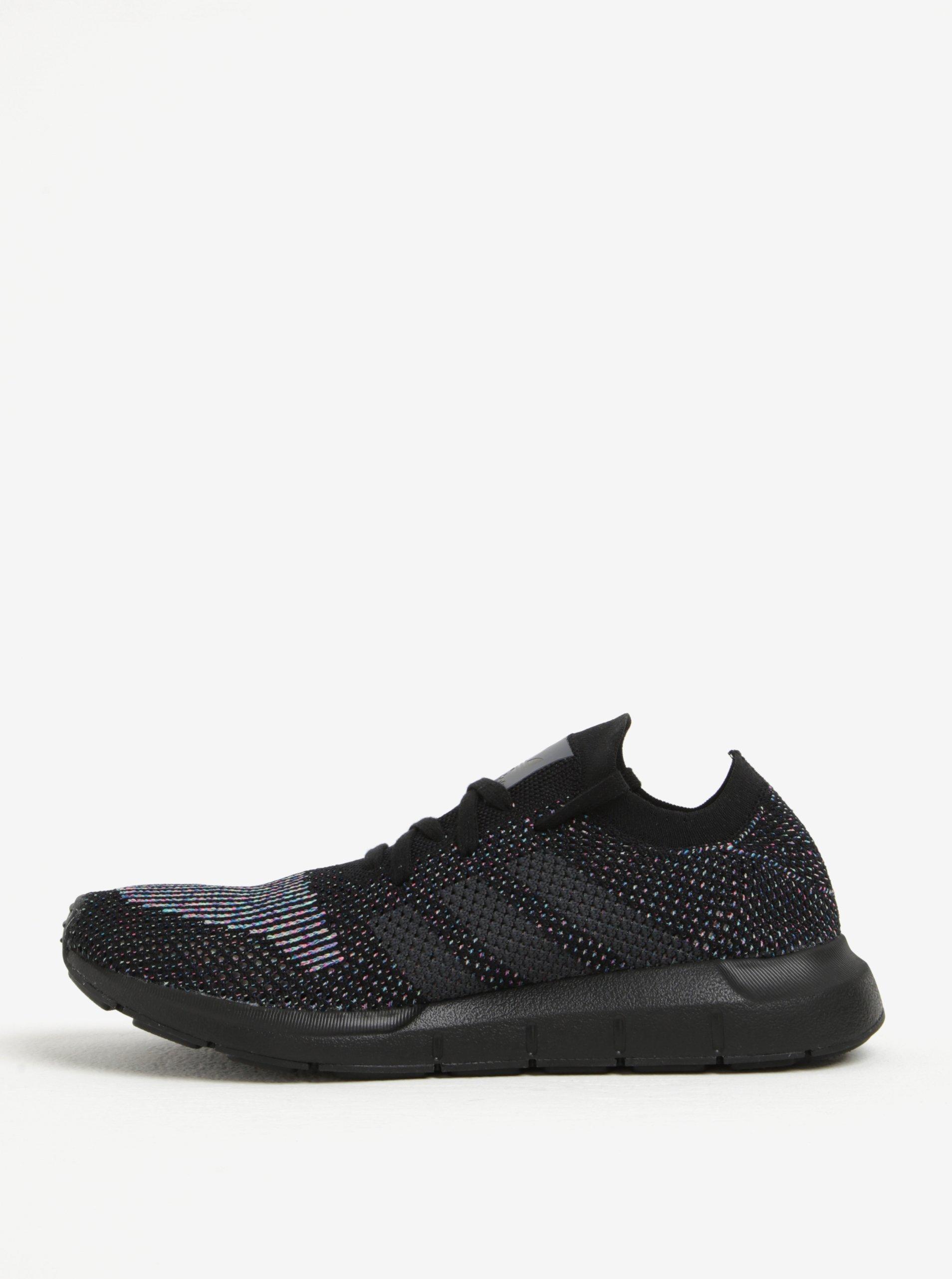 Černé pánské tenisky adidas Originals Swift Run