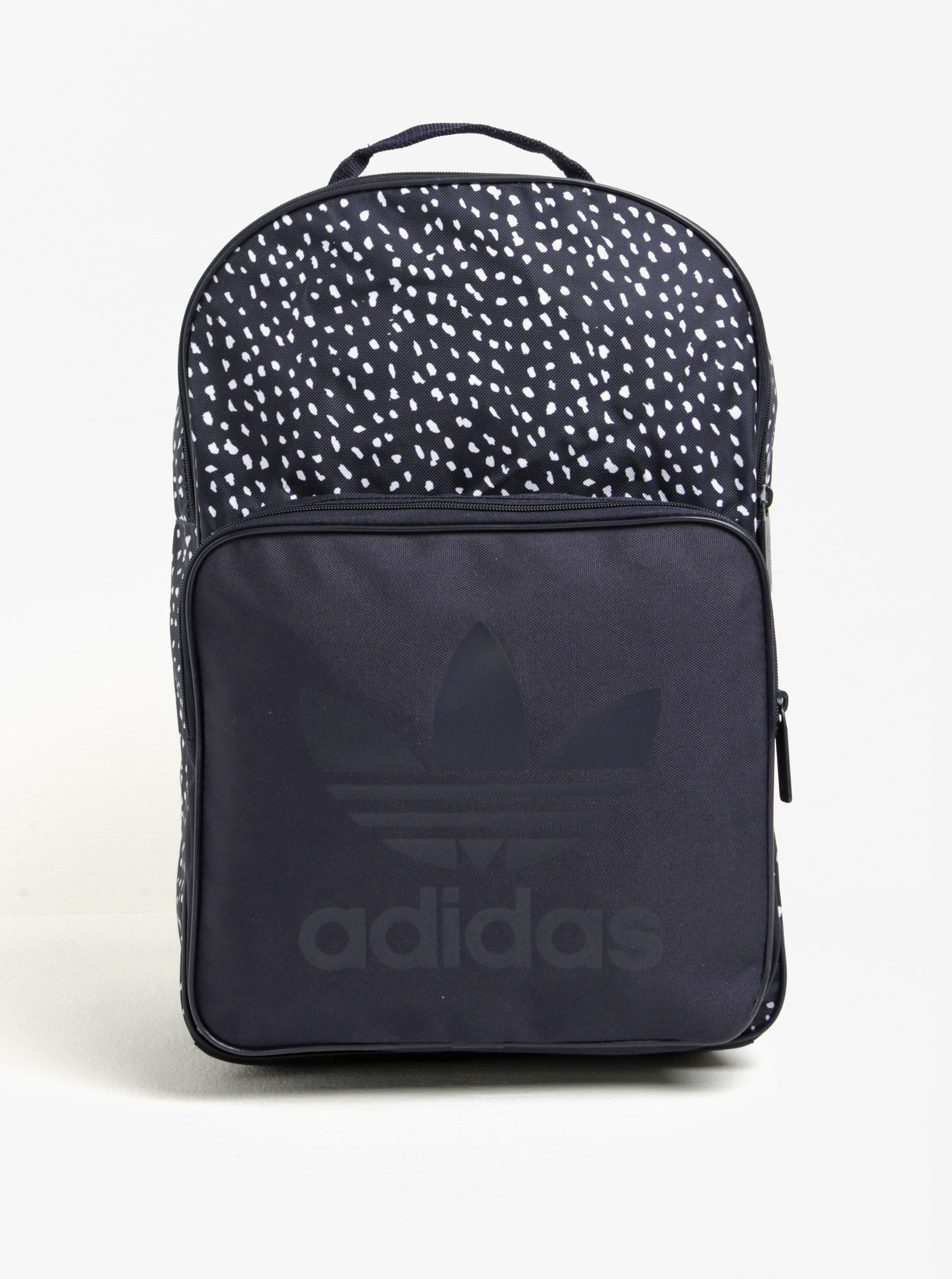 Tmavě modrý vzorovaný batoh adidas Originals Classic