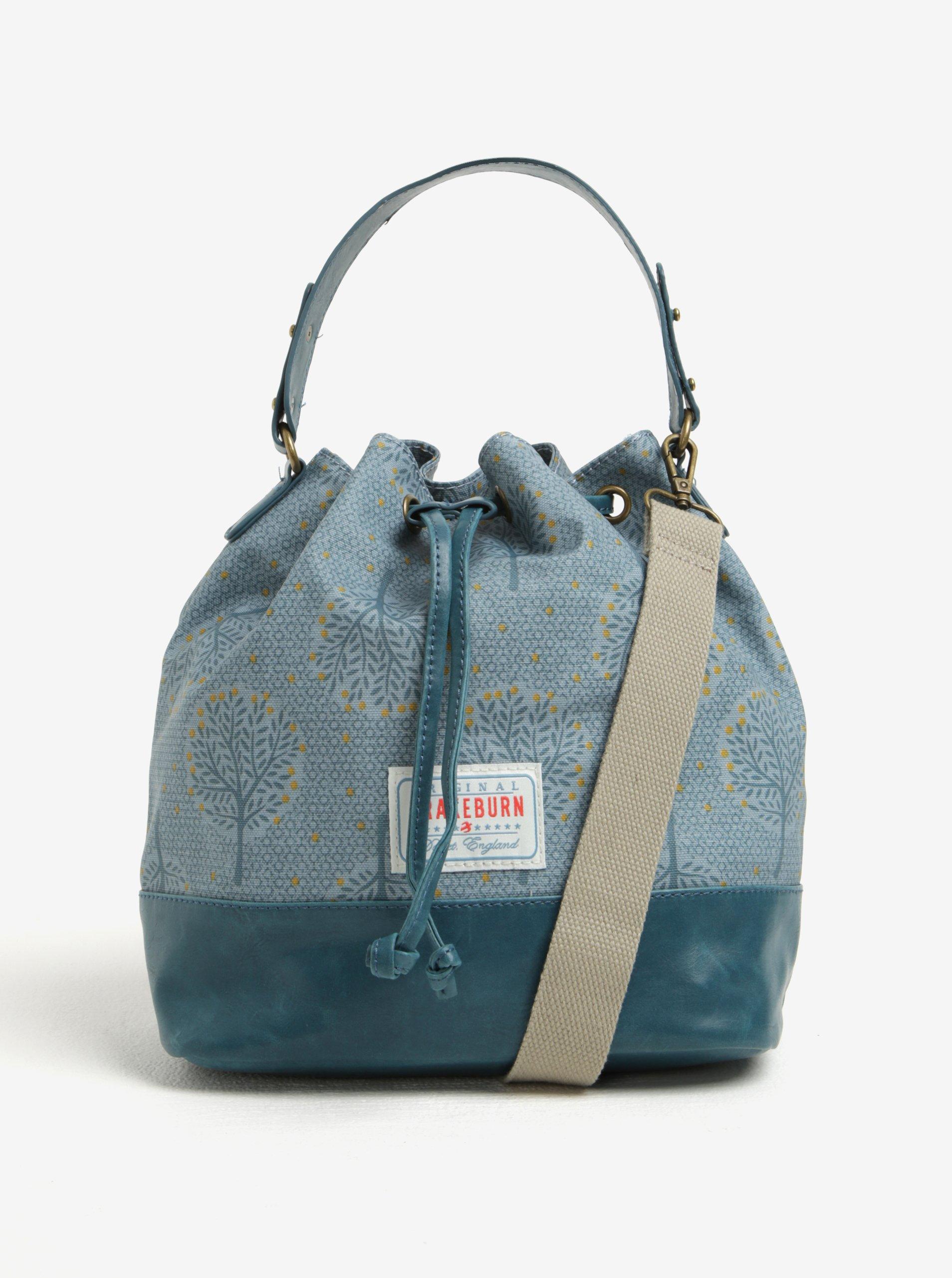 Modrá vzorovaná kabelka Brakeburn