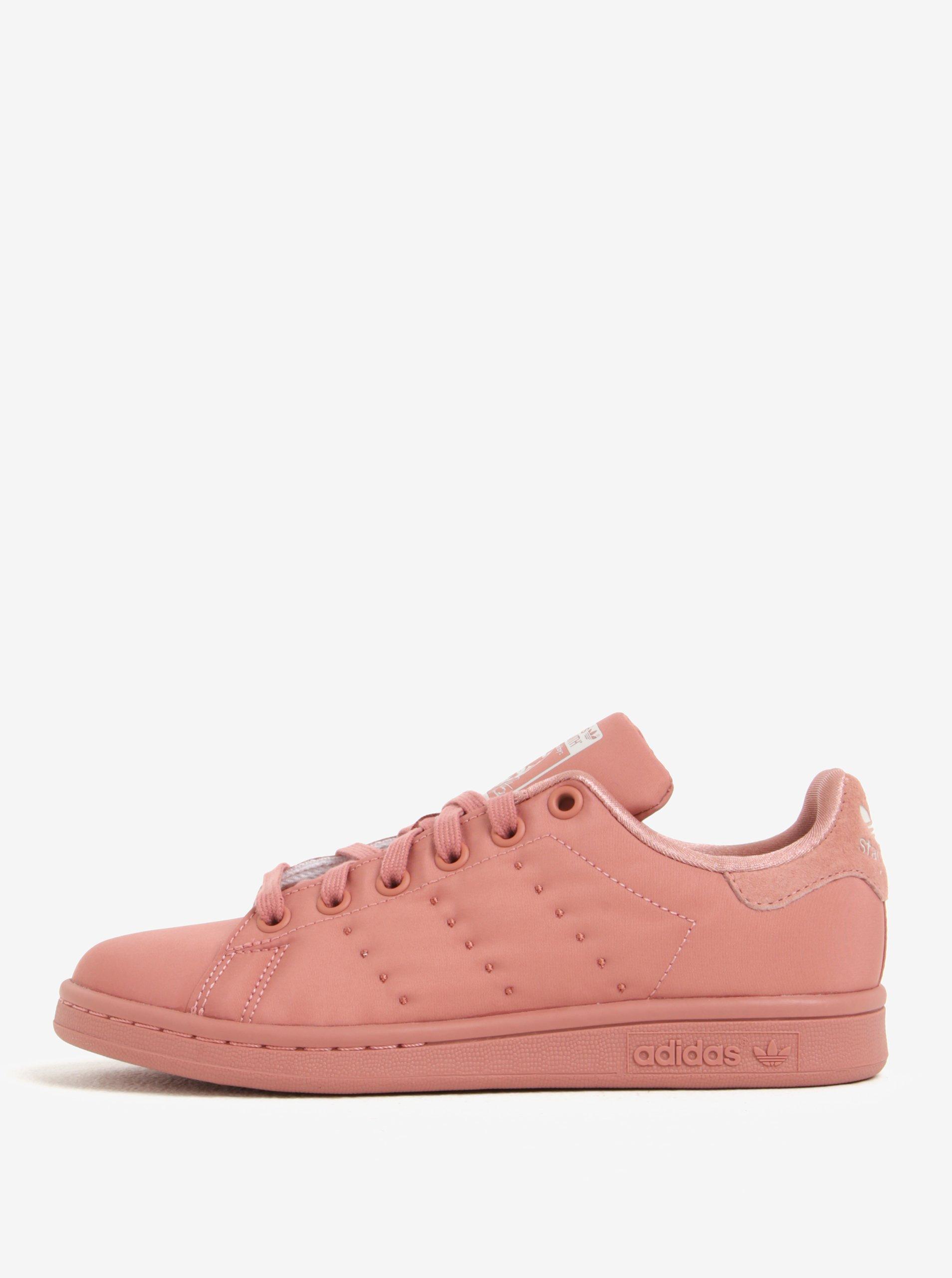 Růžové dámské tenisky adidas Originals Stan Smith