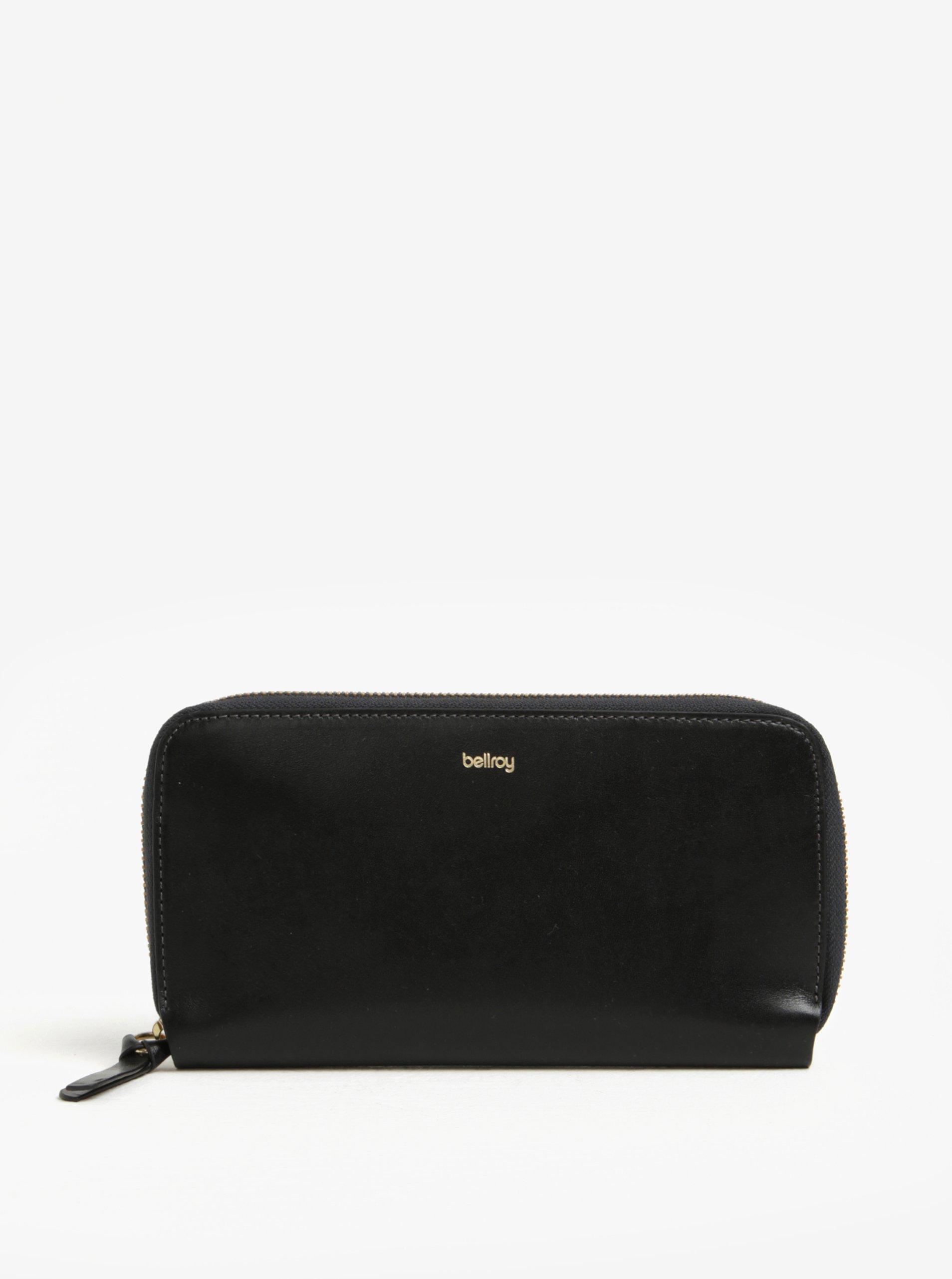 Černá dámská velká kožená peněženka Bellroy Folio