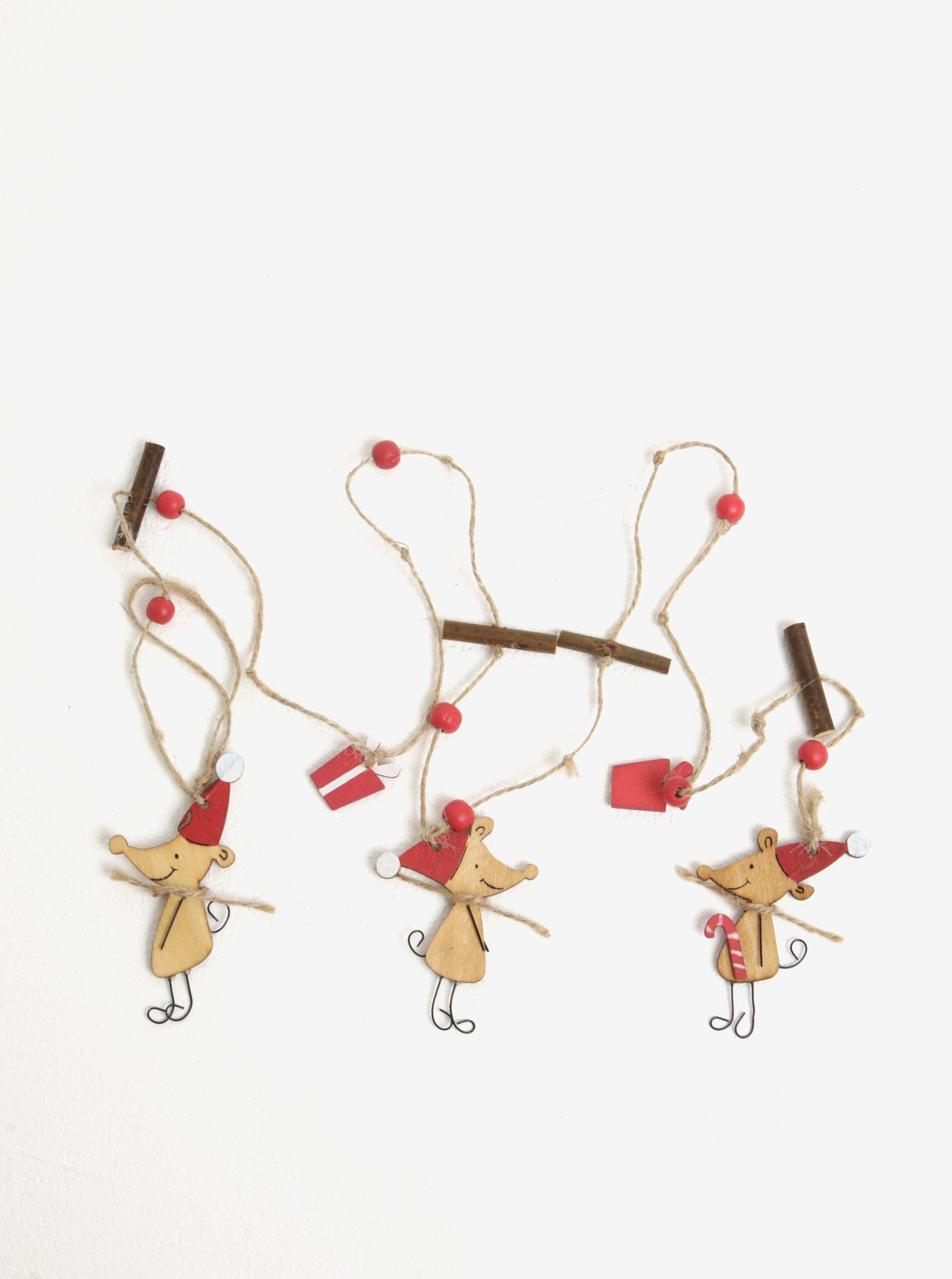 Závěsná dekorace ve tvaru myší Sass & Belle