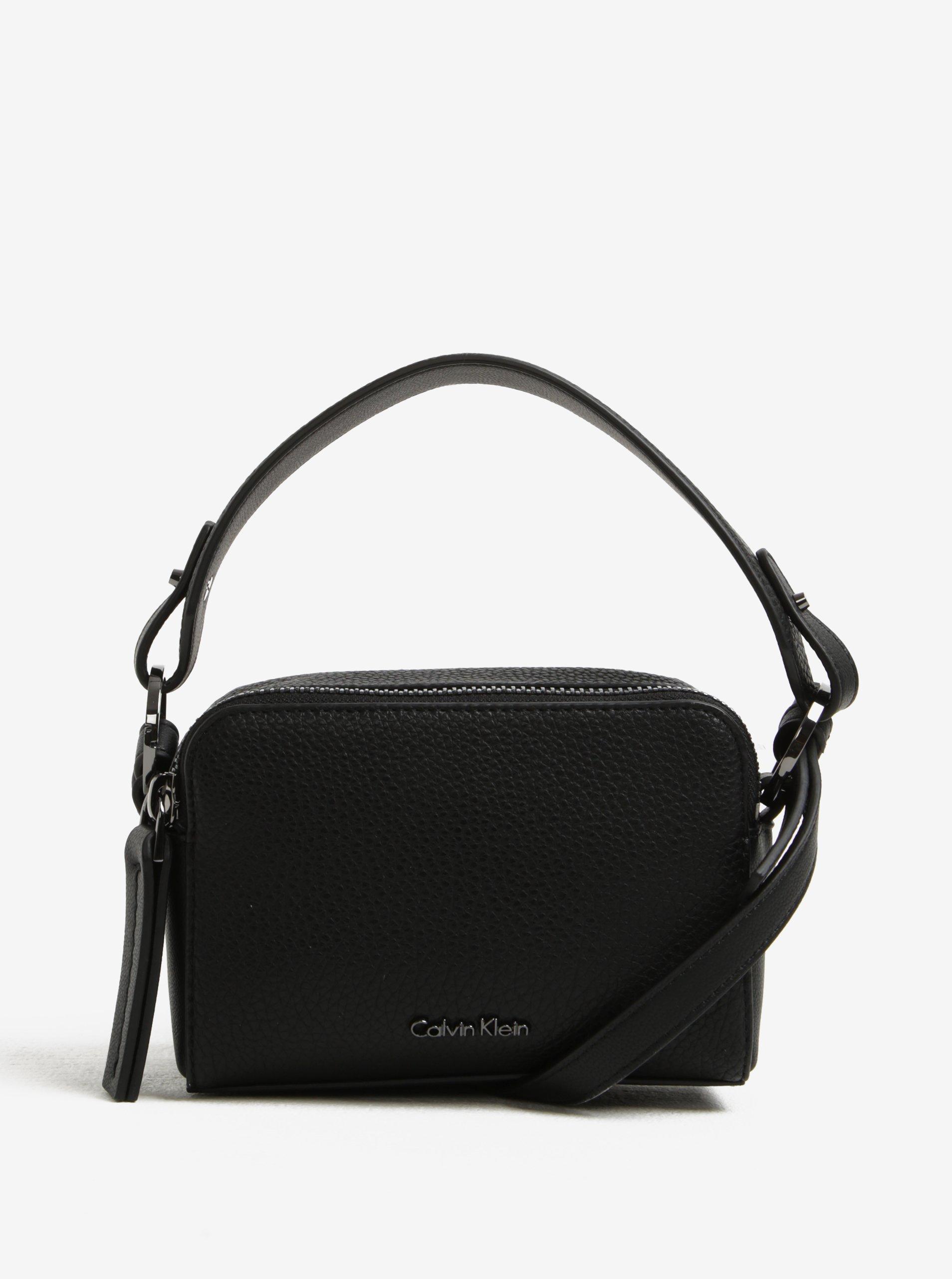 Černá dámská crossbody kabelka Calvin Klein Jeans Nicky