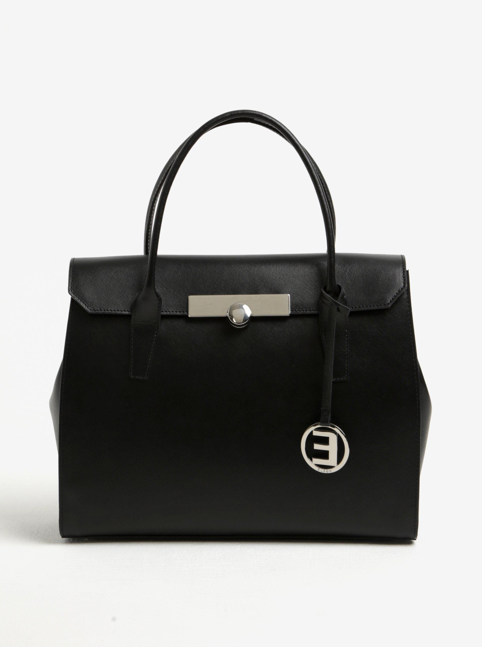 Černá dámská kabelka Elega