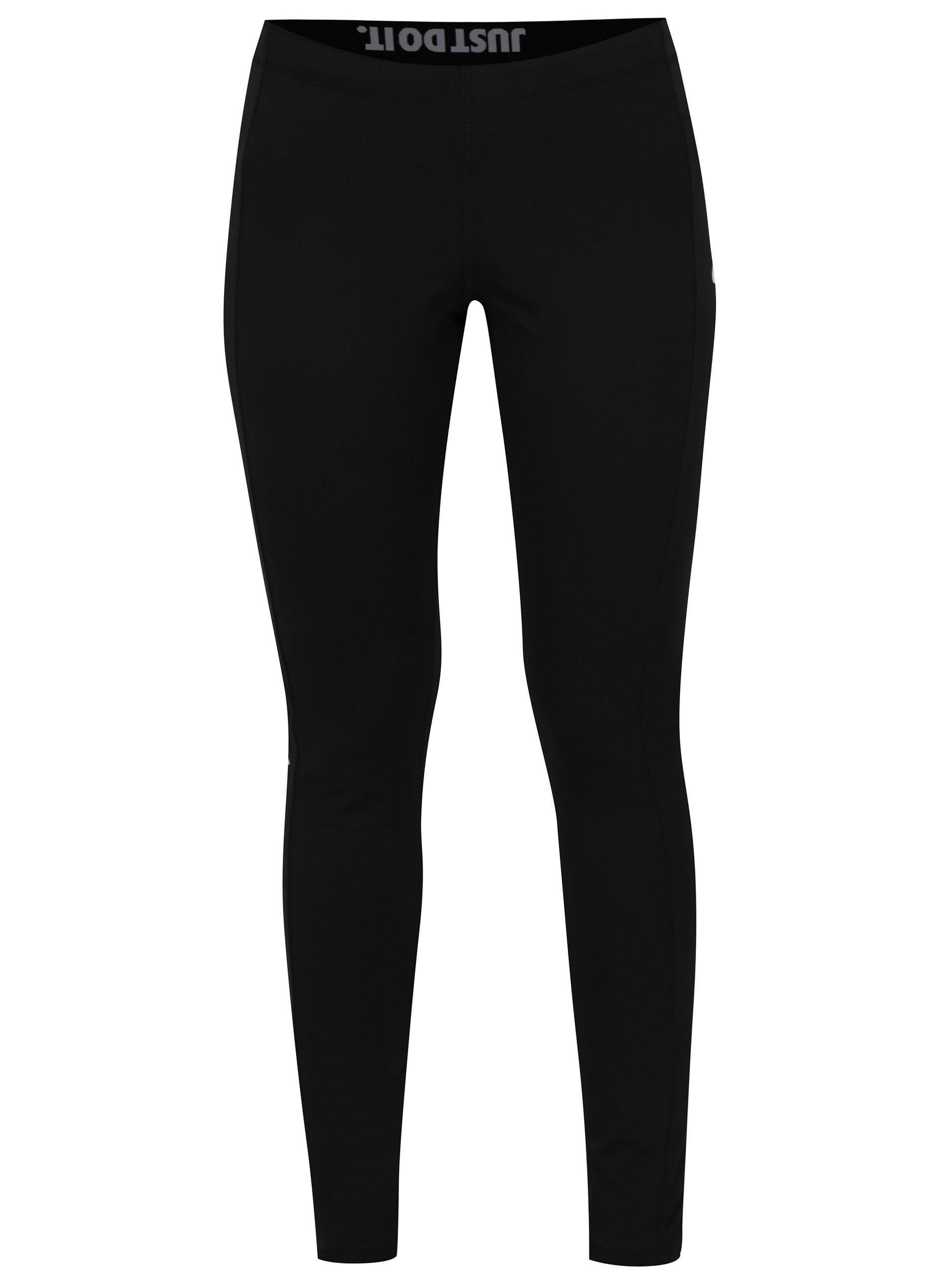 Čierne dámske legíny Nike