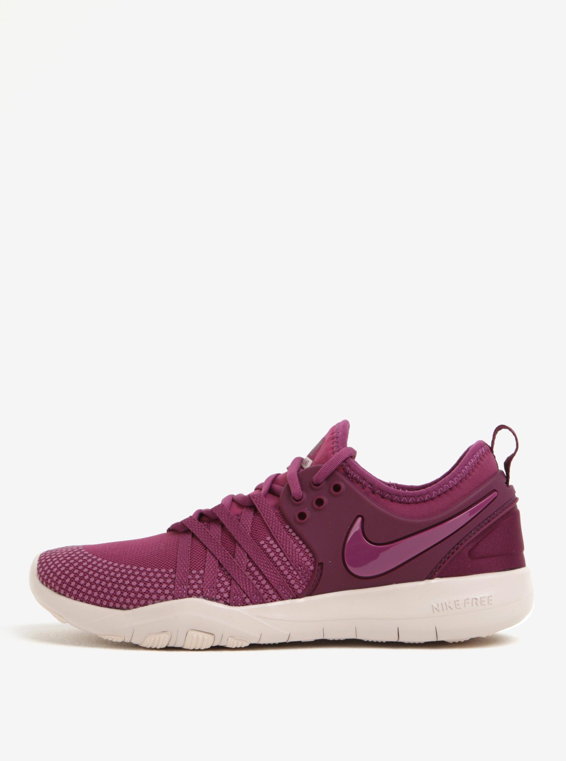 Fialové dámské tenisky Nike Free TR 7
