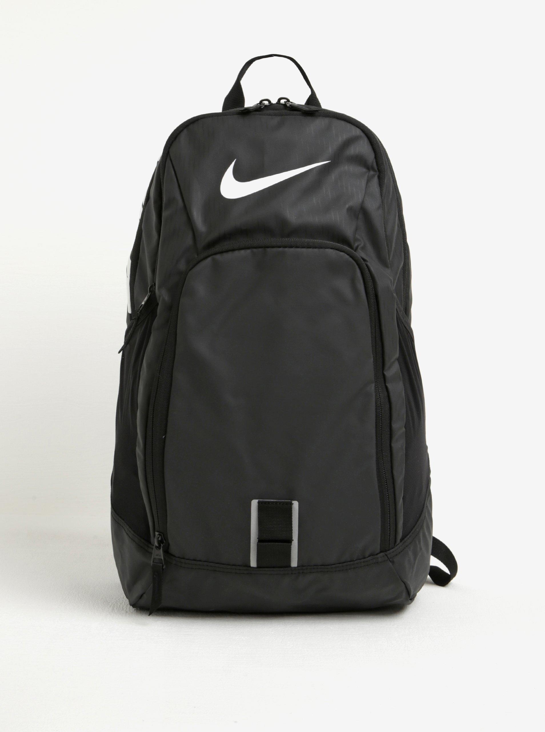 Černý batoh s potiskem Nike Alpha Adapt REV 28 l