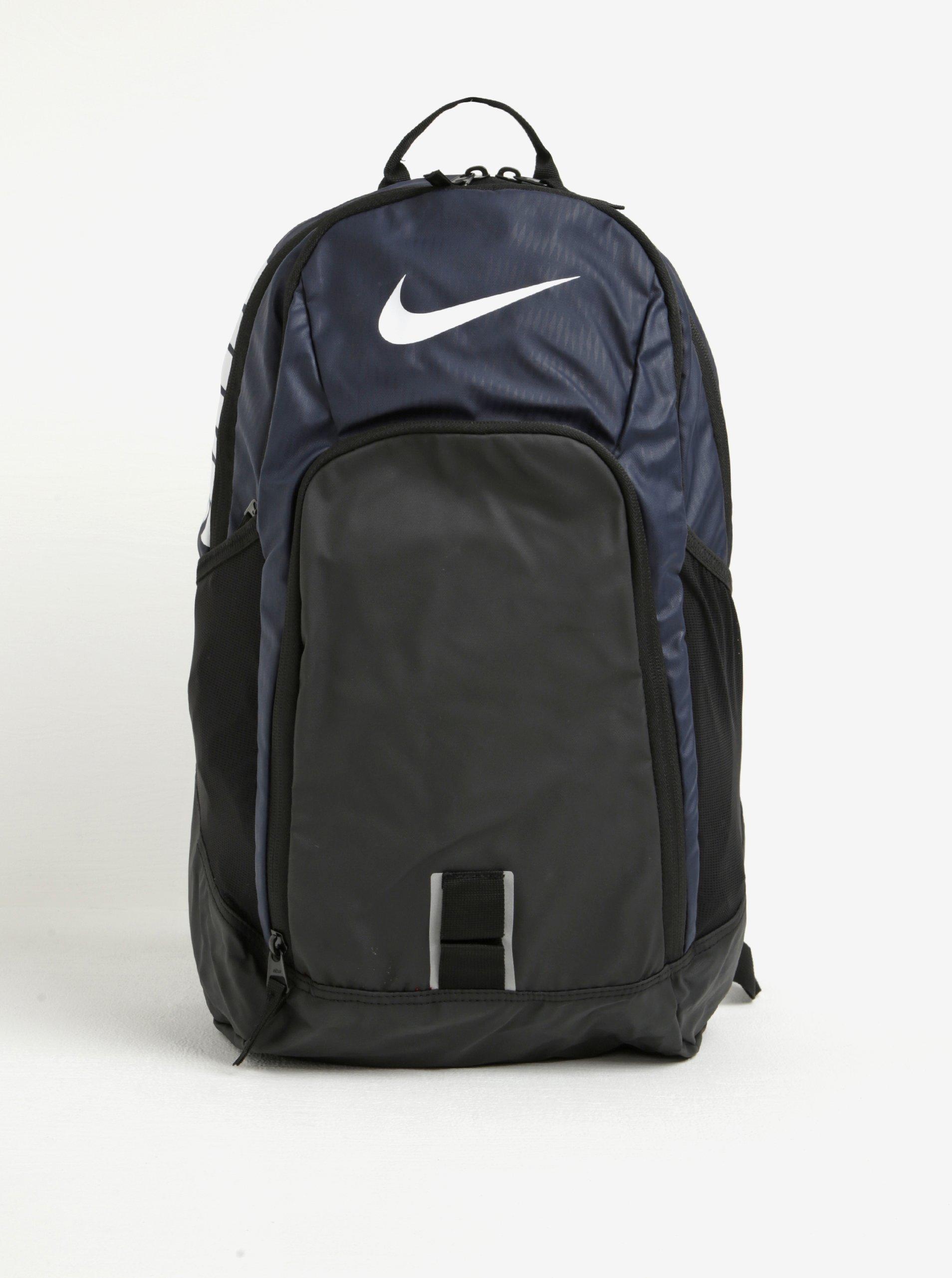 Modro-černý batoh s potiskem Nike Alpha Adapt REV 28 l