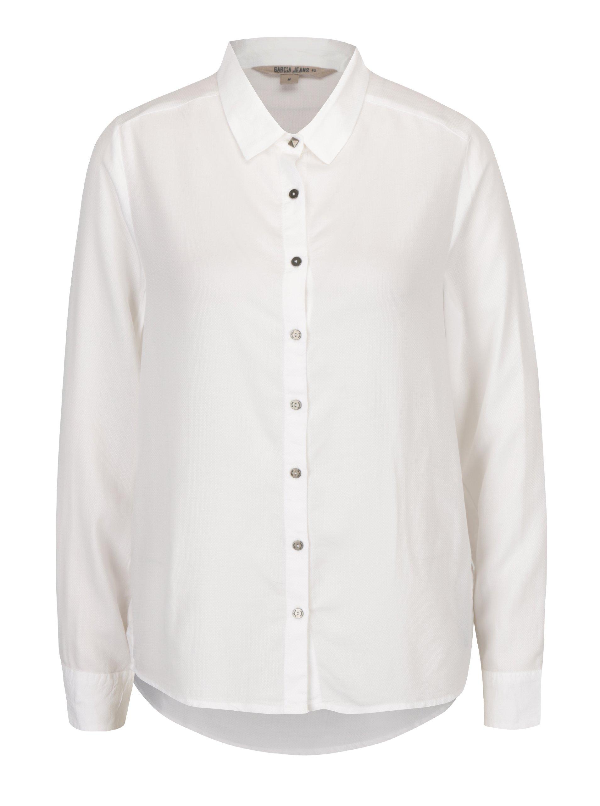 Krémová dámská košile Garcia Jeans
