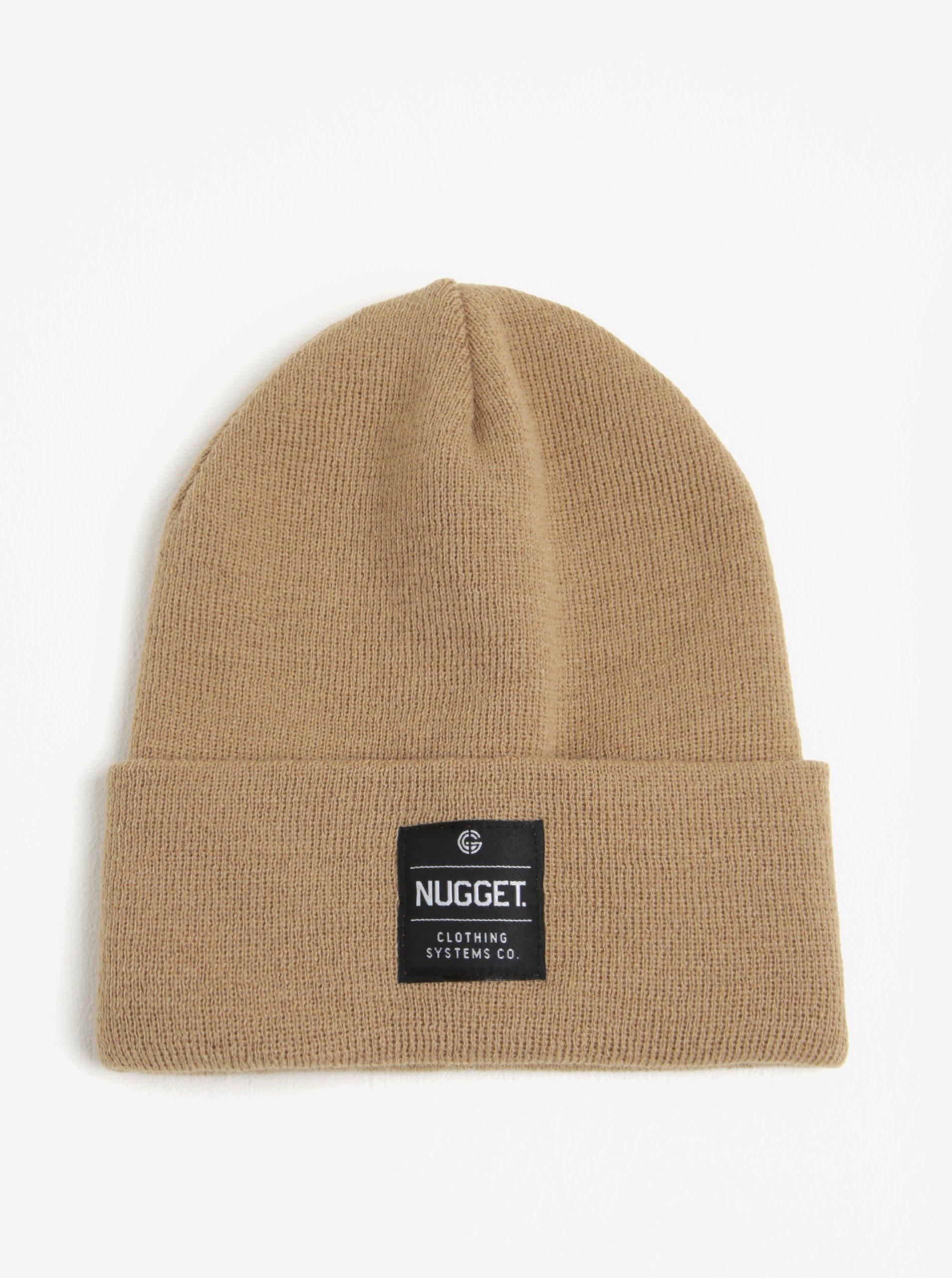 Béžová pánská čepice Nugget Bandit
