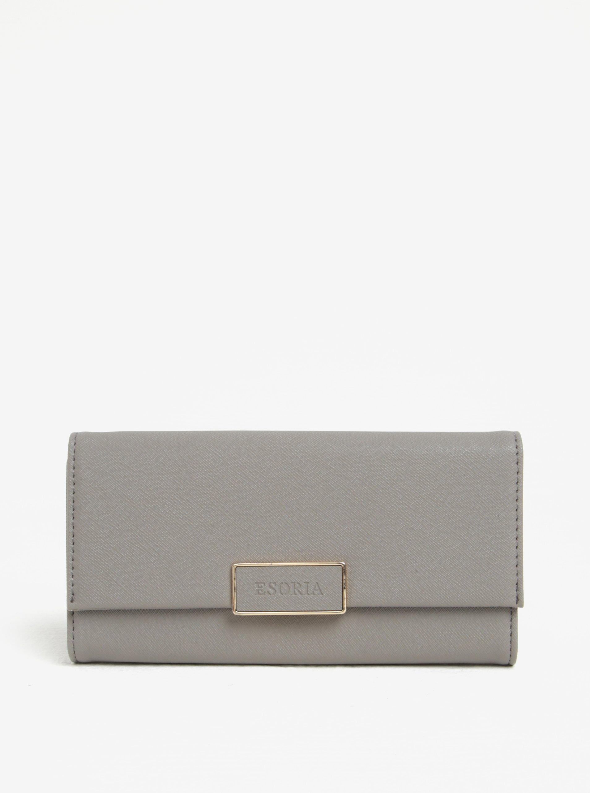 Šedá peněženka Esoria Finesa