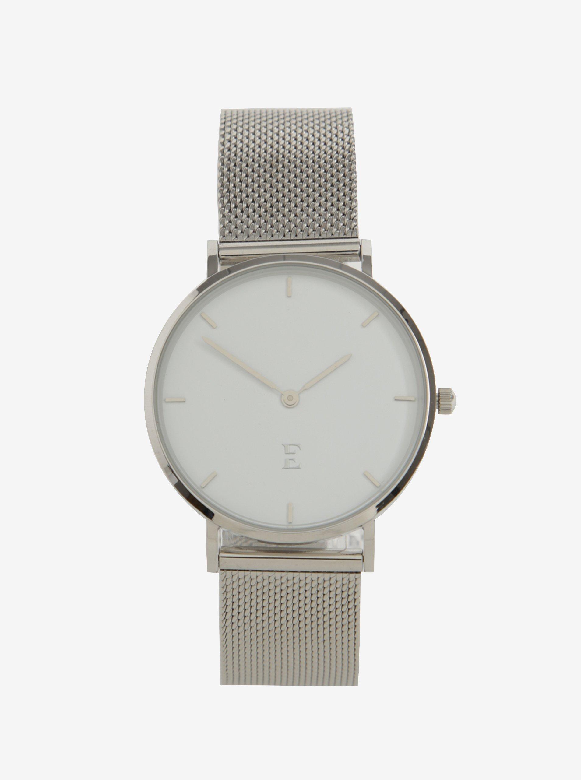 Dámské hodinky ve stříbrné barvě Esoria Akyla