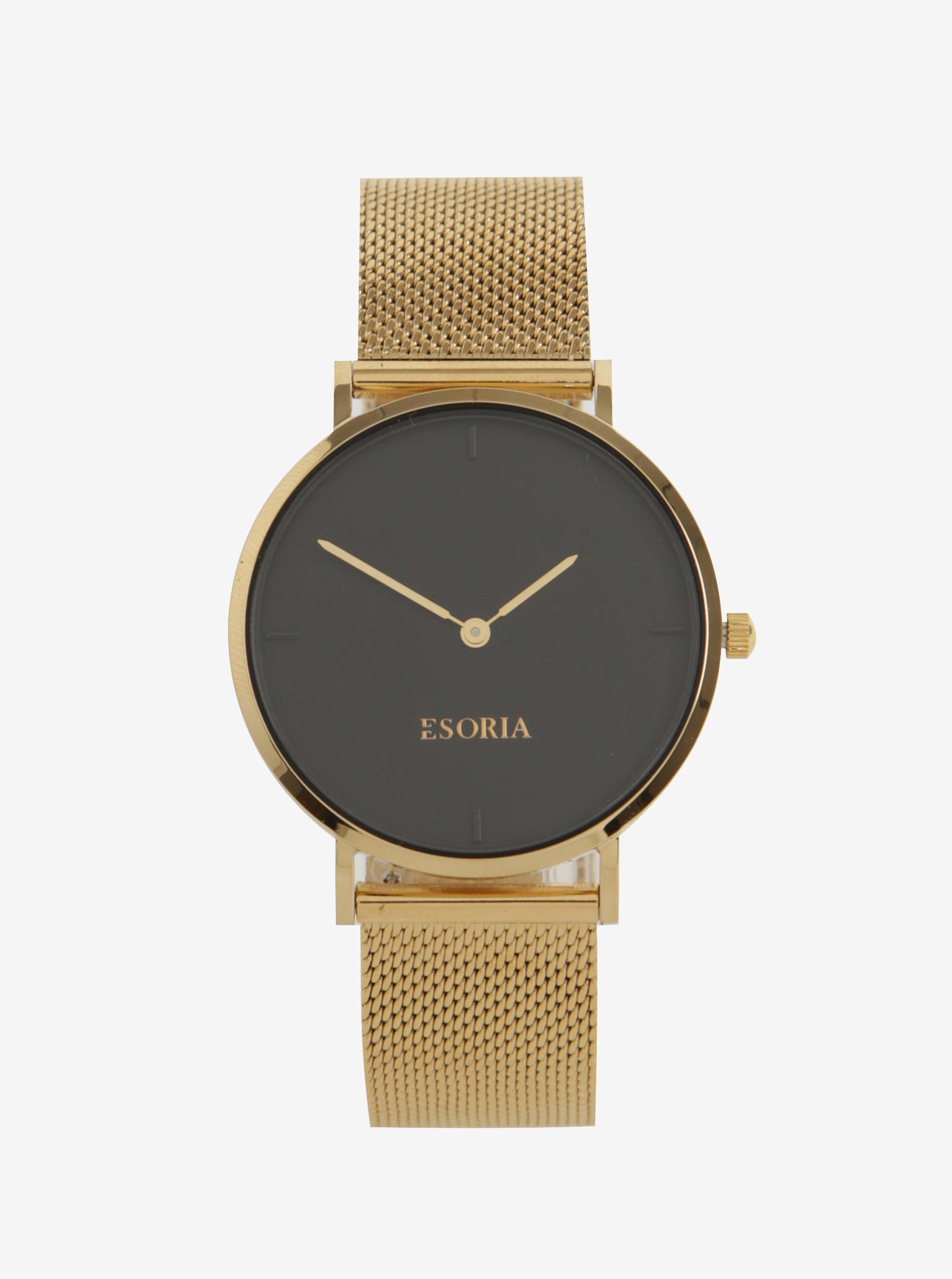 Dámské hodinky ve zlaté barvě Esoria Akyla