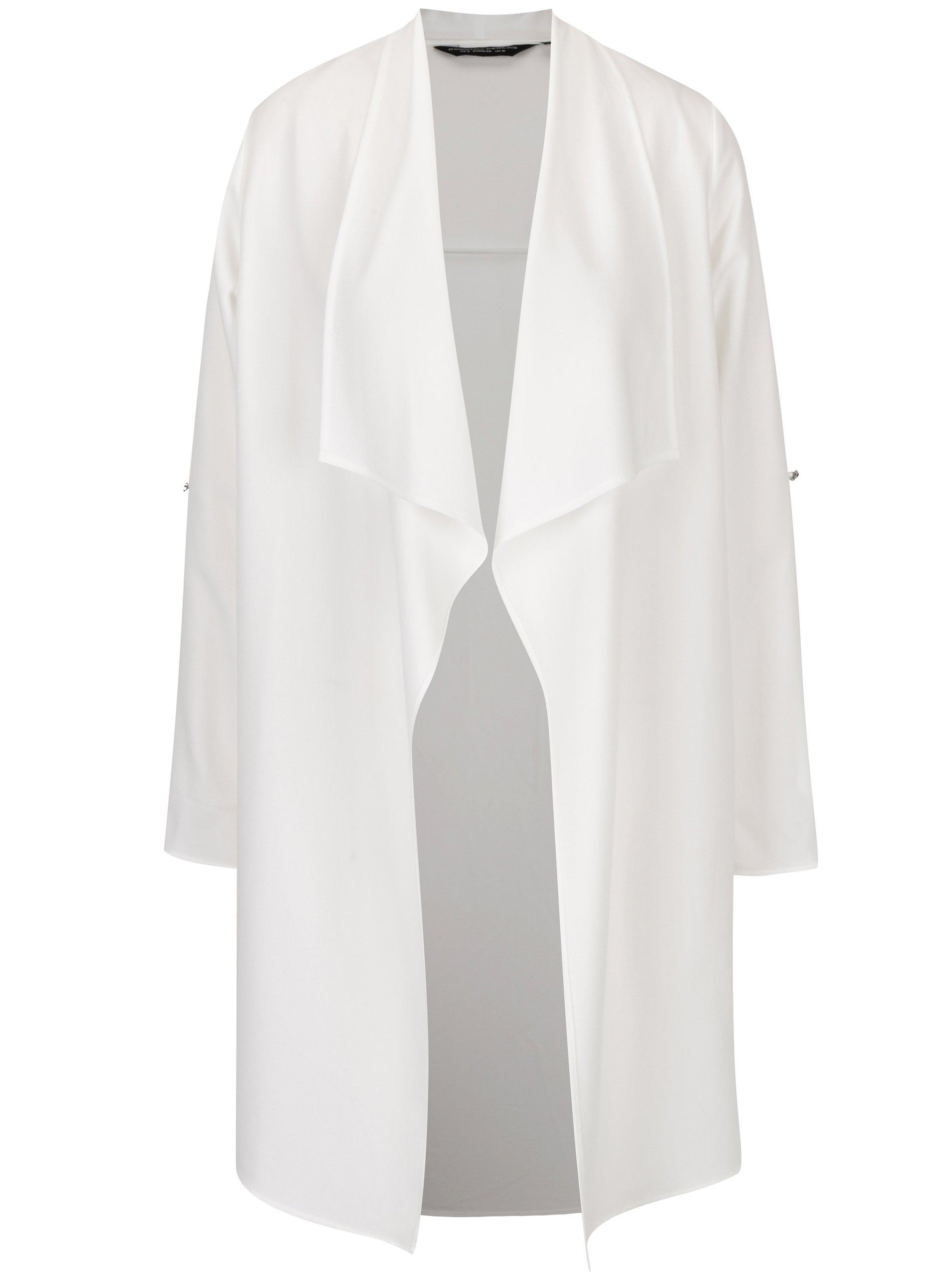 5518e3f7b4fc Krémový tenký kabát Dorothy Perkins